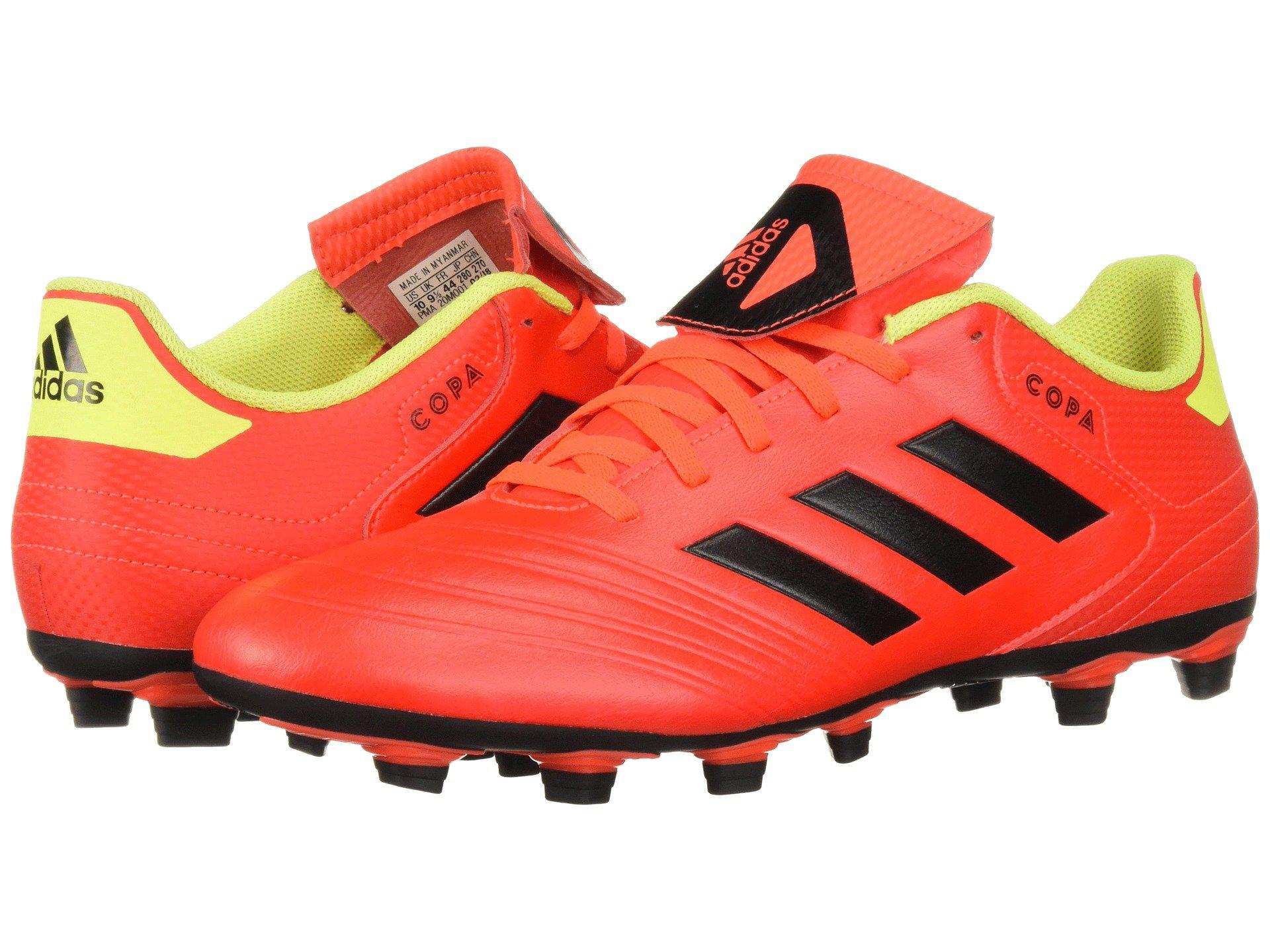 new style c7abf 7dabe Adidas - Red Copa 18.4 Fxg for Men - Lyst. View fullscreen