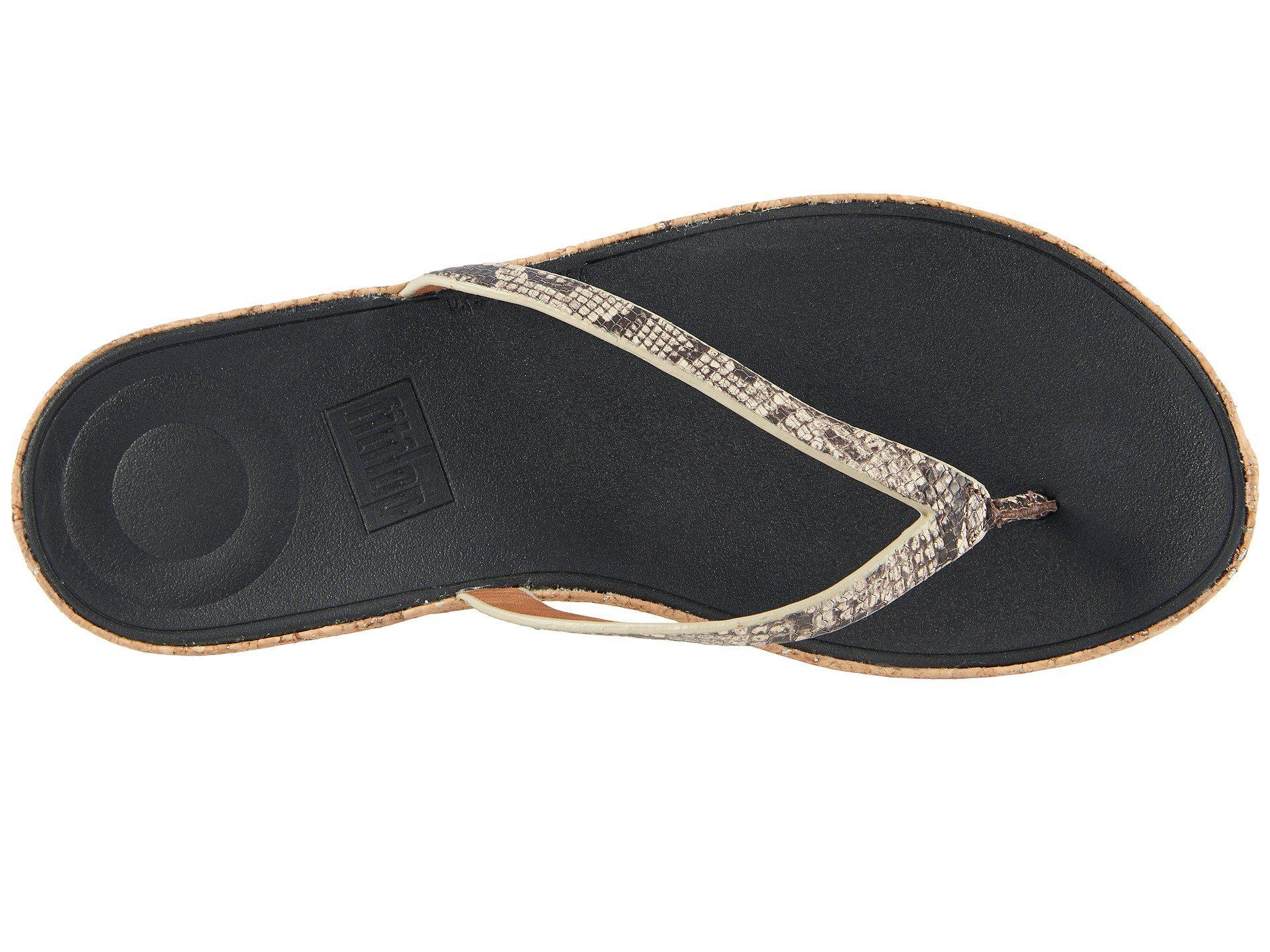 427f410694b7b3 Fitflop - Multicolor Linny Toe Thong Sandals - Lyst. View fullscreen