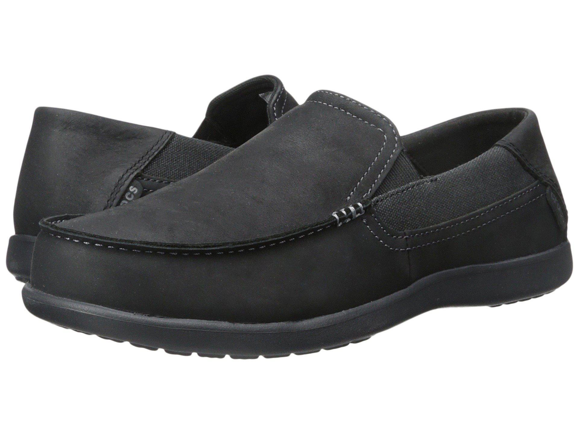 fb62f1c96 Lyst - Crocs™ Santa Cruz 2 Luxe Leather in Black for Men - Save 47%