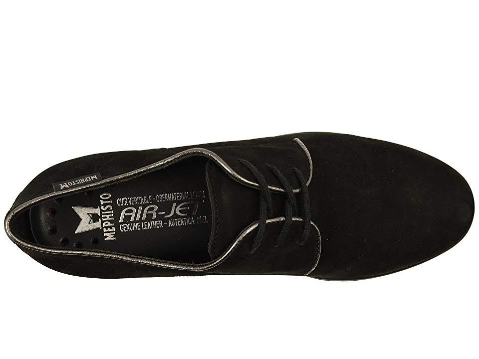 5fe065f64cf6 Mephisto Loreen (black Bucksoft/grey Borneo) Shoes in Black - Save ...
