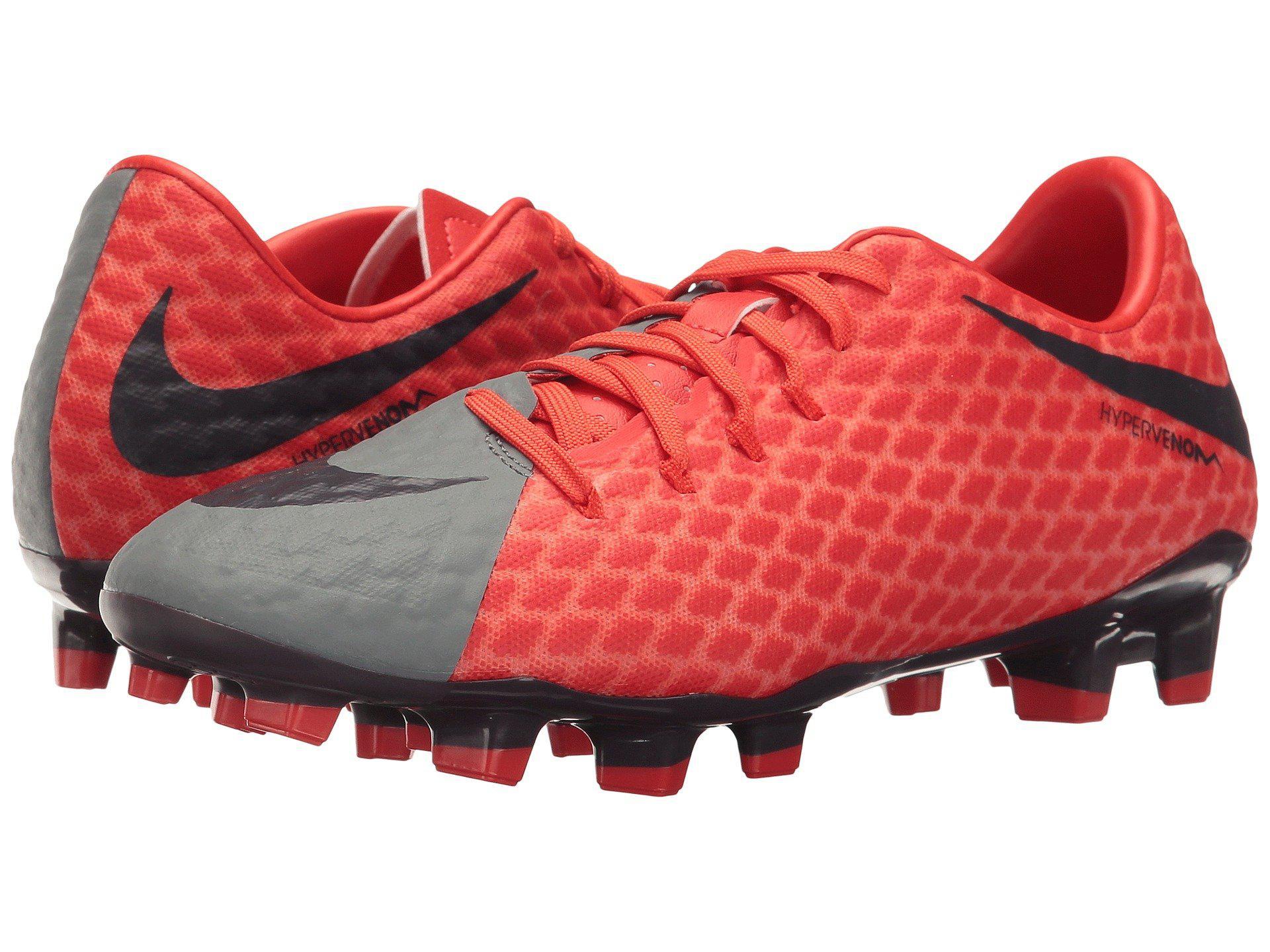 10d88fe31 Lyst - Nike Hypervenom Phelon Iii Fg in Red