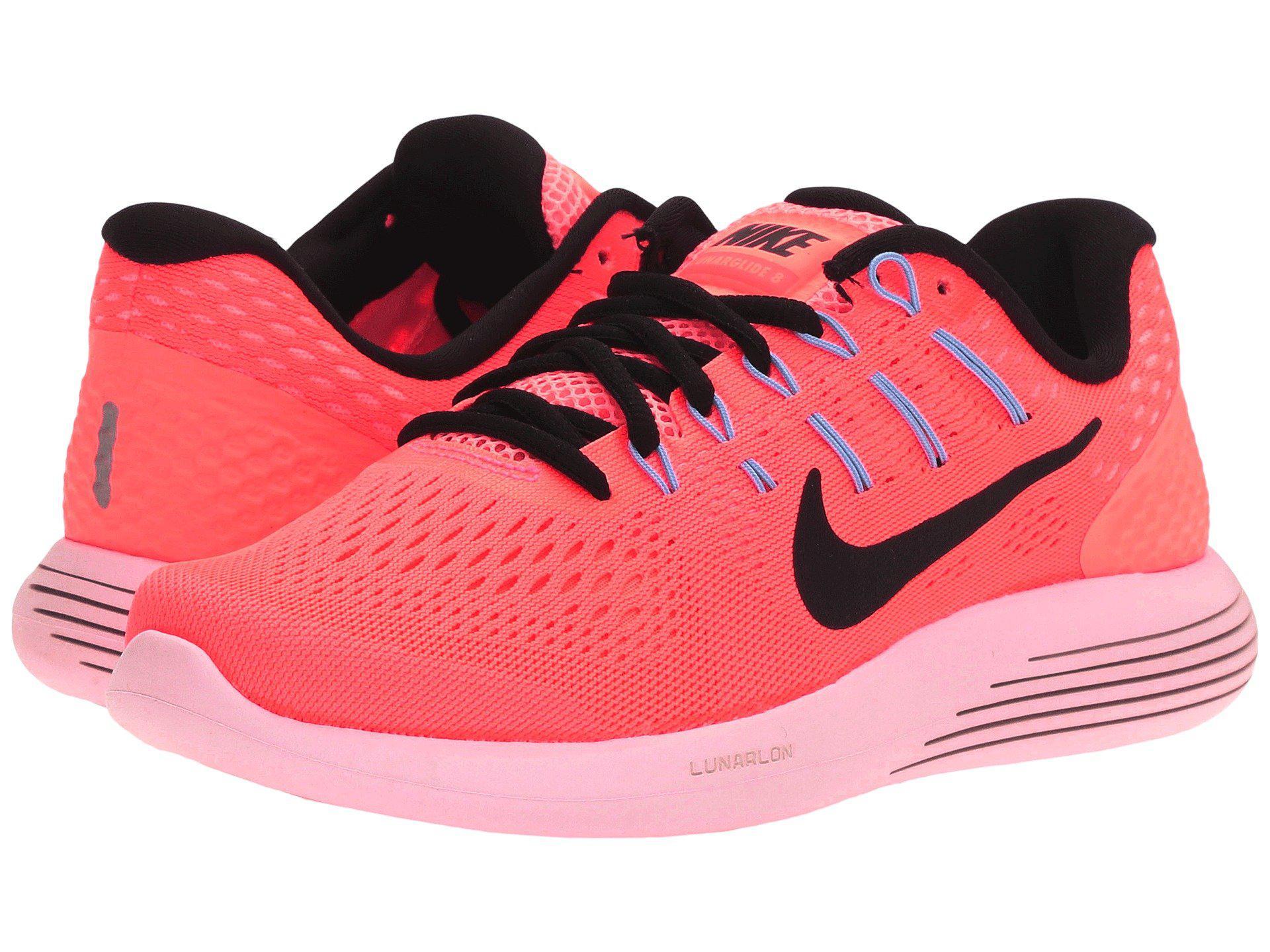 best website 65e03 d85eb Lyst - Nike Lunarglide 8 in Pink