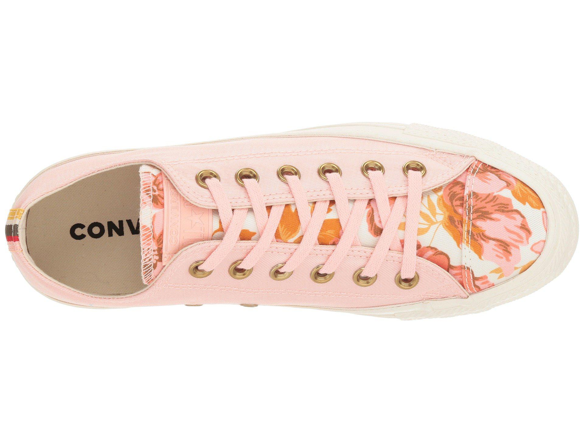 Converse - Pink Chuck Taylor All Star - Parkway Floral Ox - Lyst. View  fullscreen 5a3c5ce0c