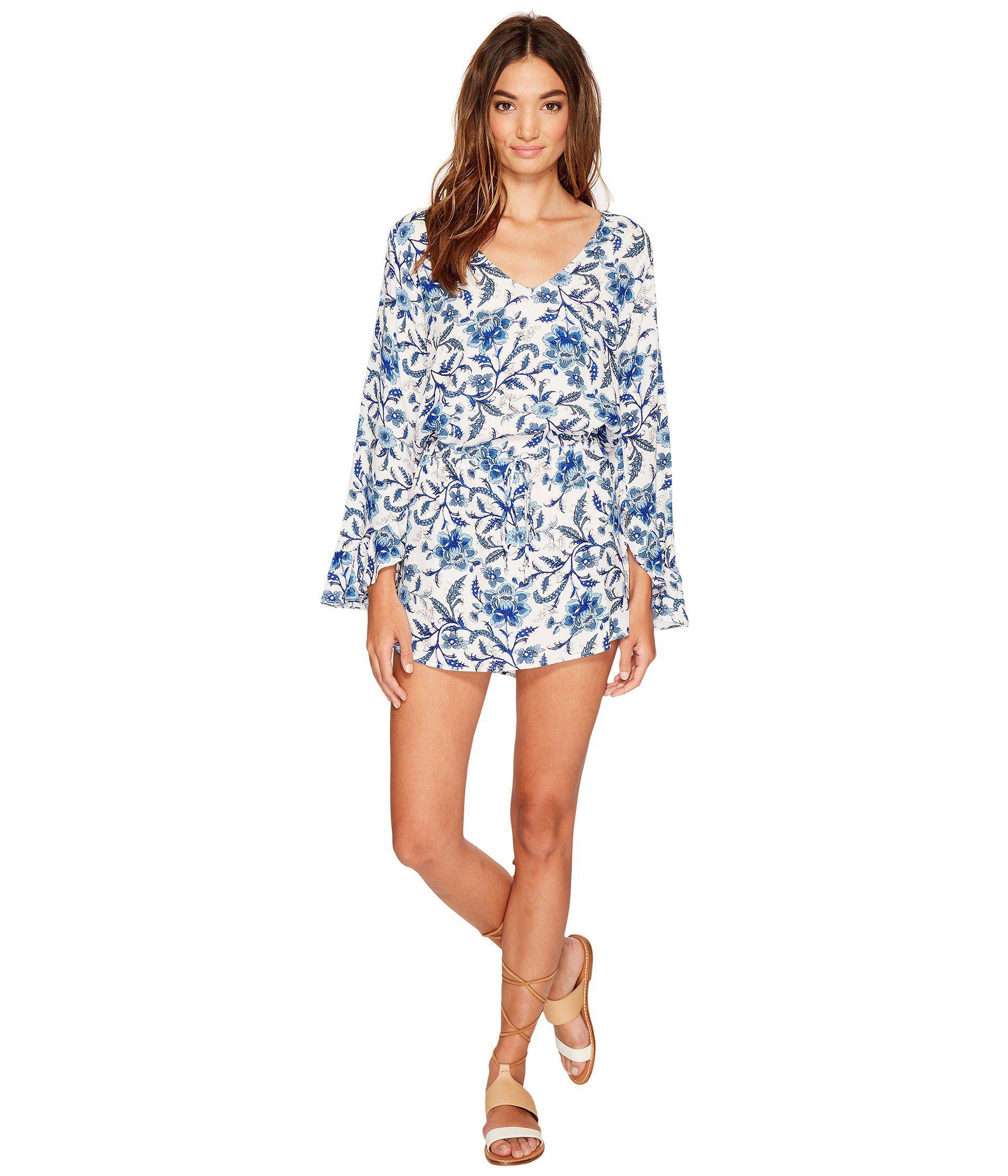 1723cfca12dca5 Lucy Love Take It Easy Dress in Blue - Lyst