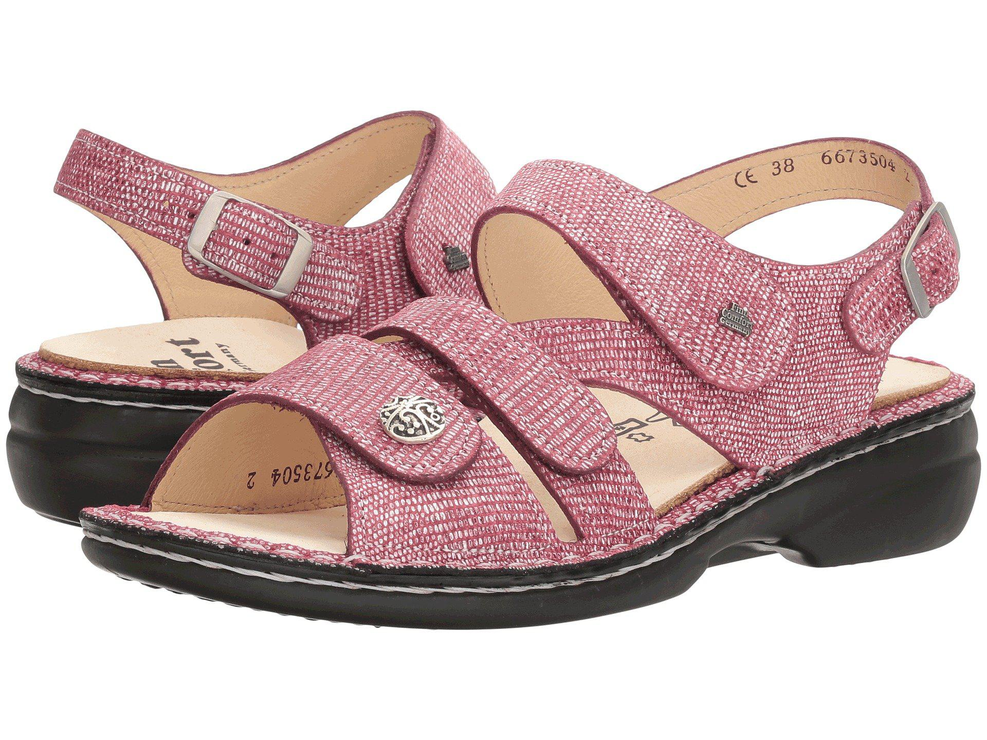 01d099878fa9e0 Lyst - Finn Comfort Gomera-s in Pink