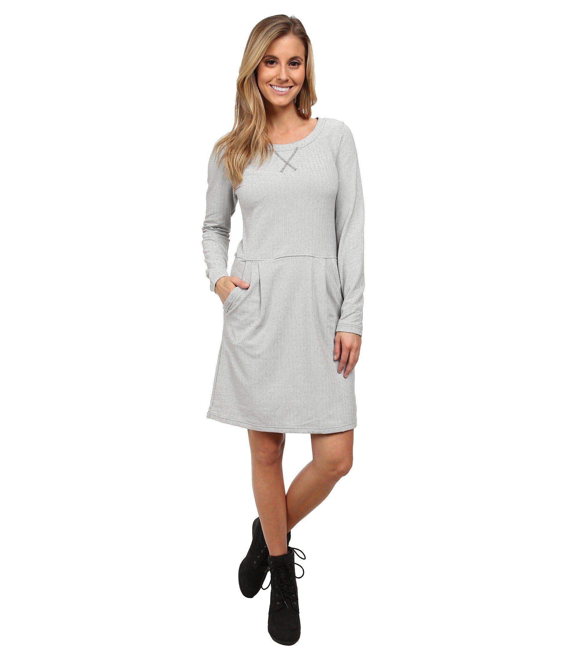 a4c776b1cc7 Patagonia Active Herringbone Dress in Gray - Lyst
