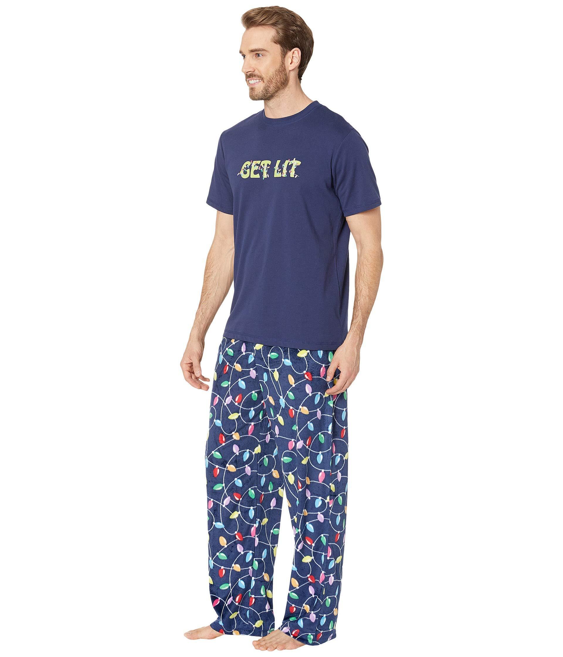 Lyst - Karen Neuburger Get Lit Family Short Sleeve Pj Set in Blue for Men -  Save 44% fe288ffd8