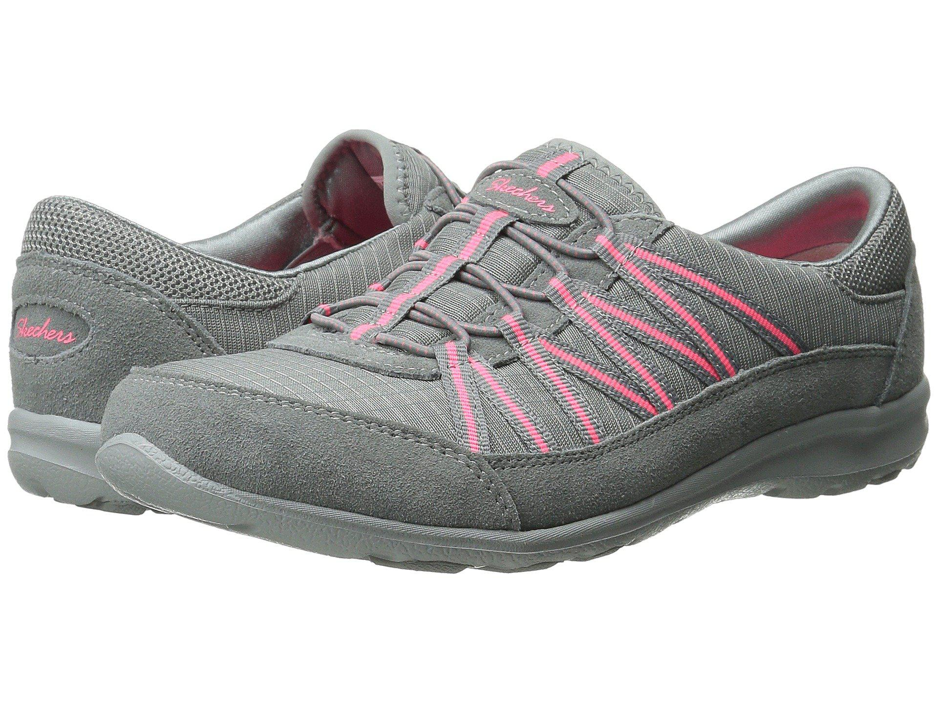 c3eaee3568cd Lyst - Skechers Dreamchaser - Romantic Trail in Gray