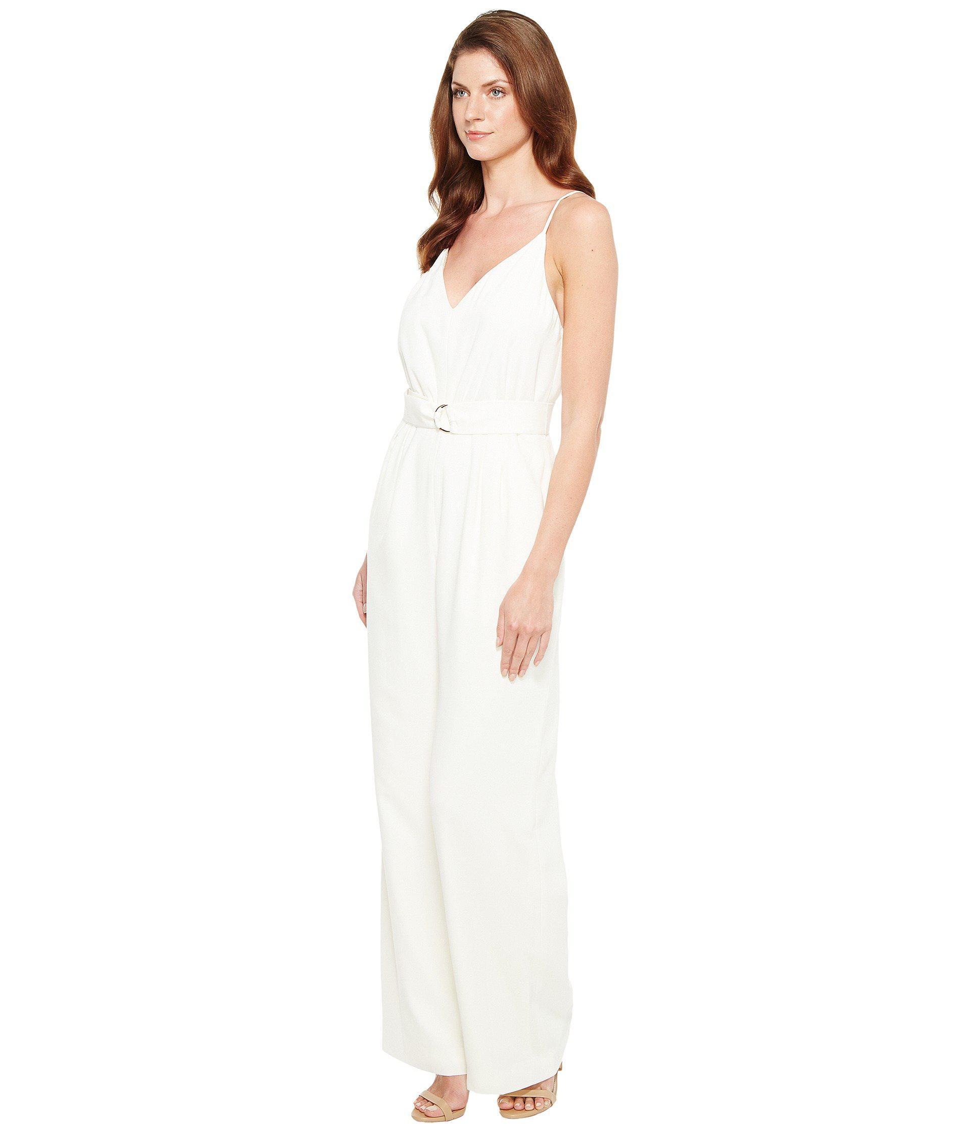 281b9db98c0 Lyst - JILL Jill Stuart 2-ply D-ring Jumpsuit in White - Save 26%