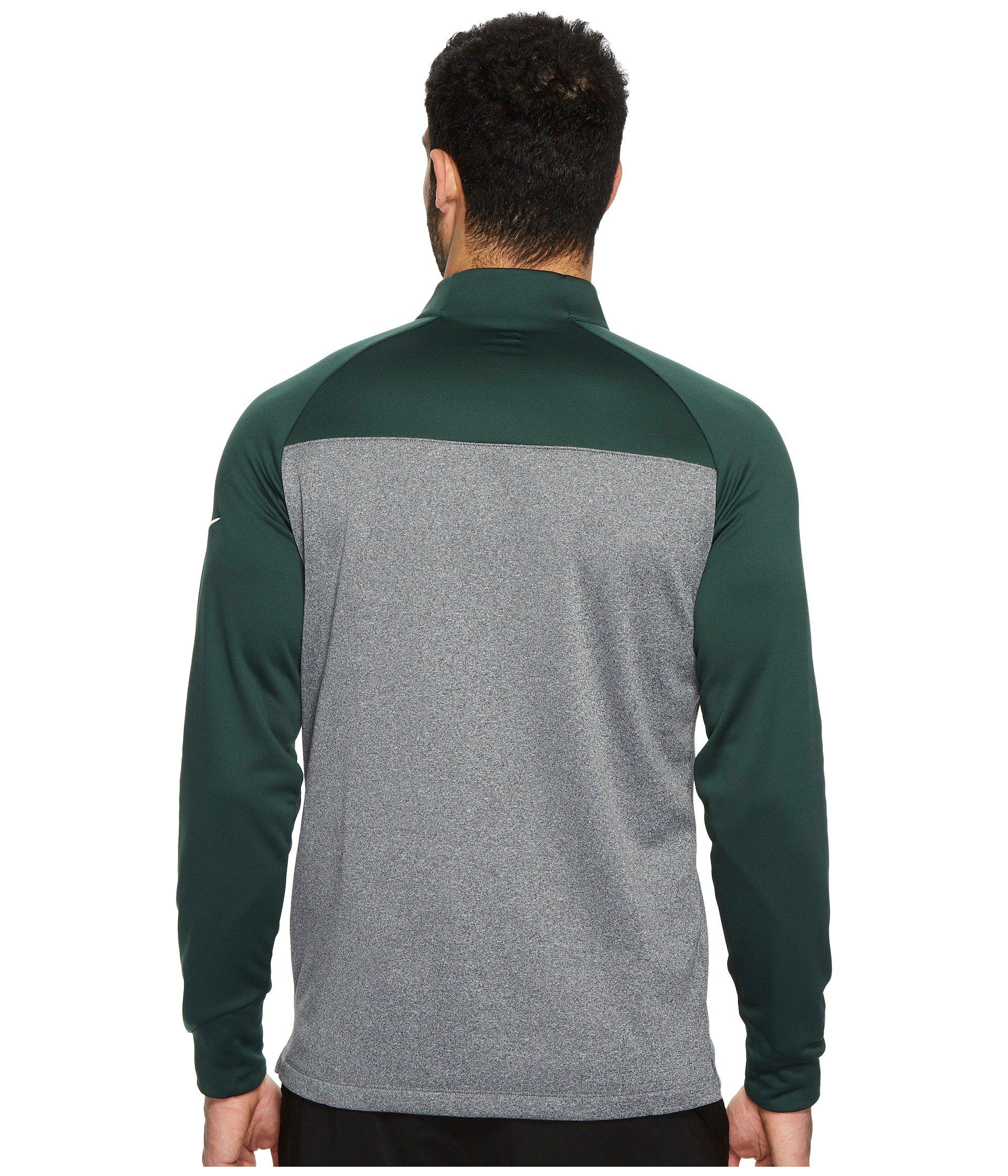 f2d466ce0716 Lyst - Nike Therma-fit 1 2 Zip in Green for Men