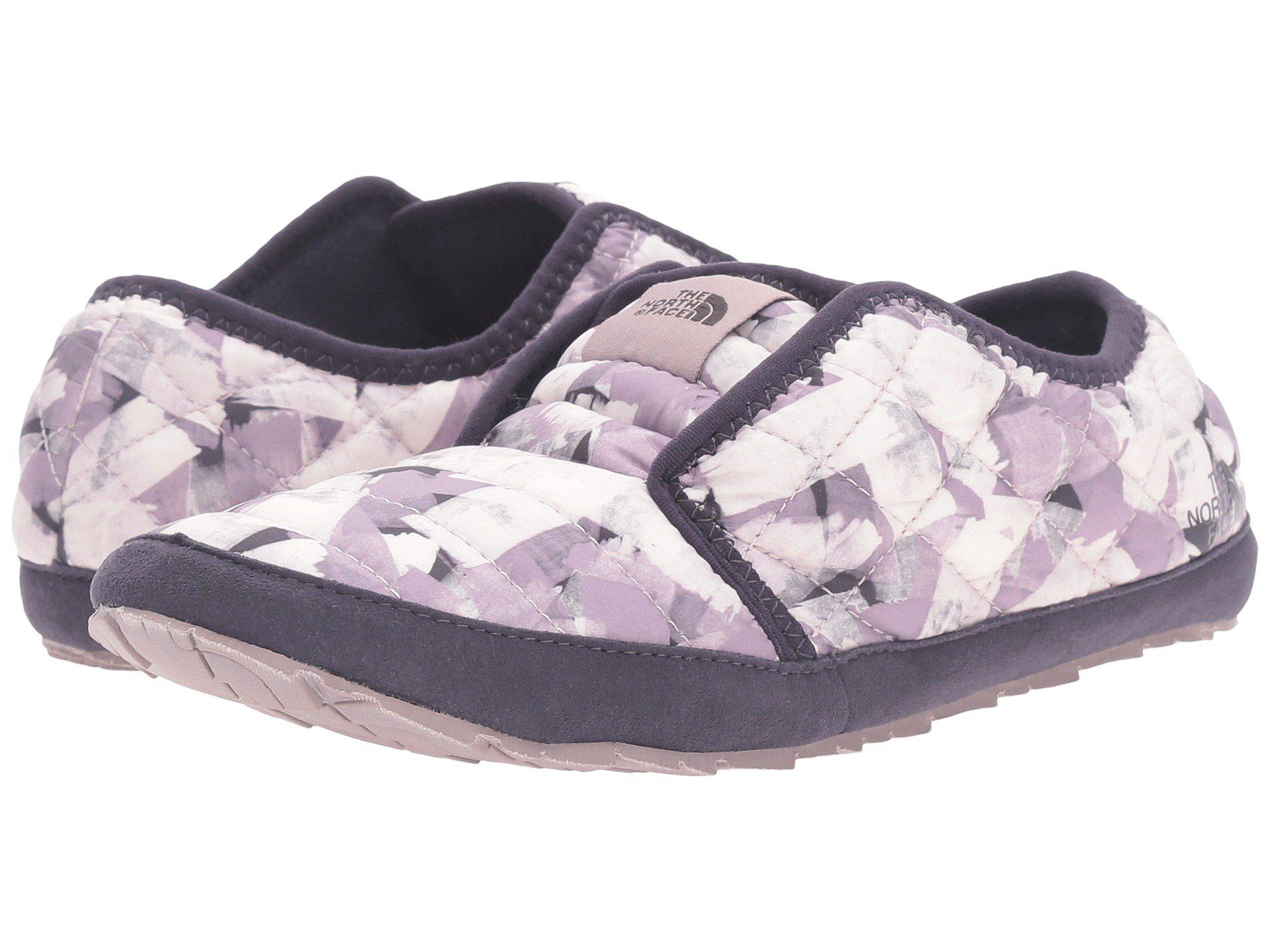 The North Face Loafers Womens - The North Face Thermoball Traction Mule II Purple Blue