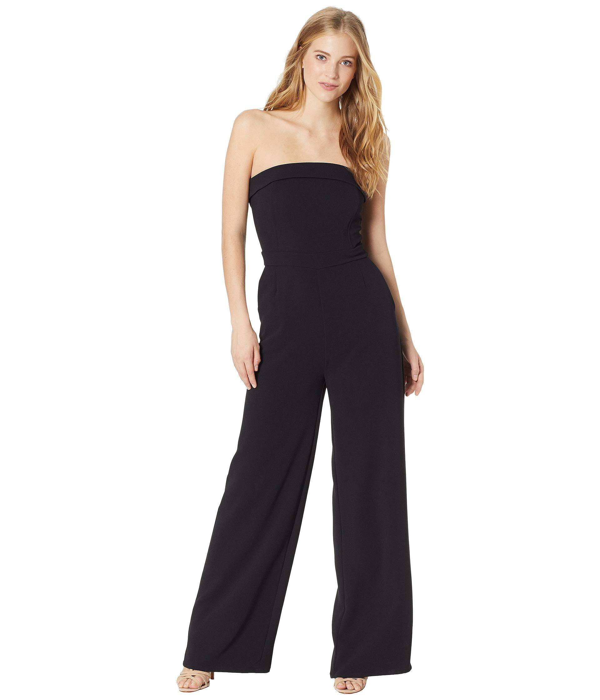 66b803243ded Lyst - Cupcakes And Cashmere Carissa Sleeveless Jumpsuit in Black ...