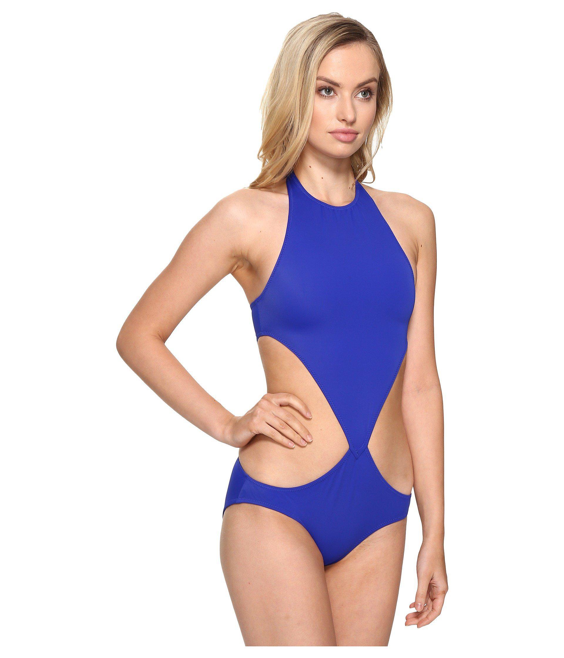 0a6b4923fdbd5 Lyst - Kamalikulture Chuck Swimsuit in Blue