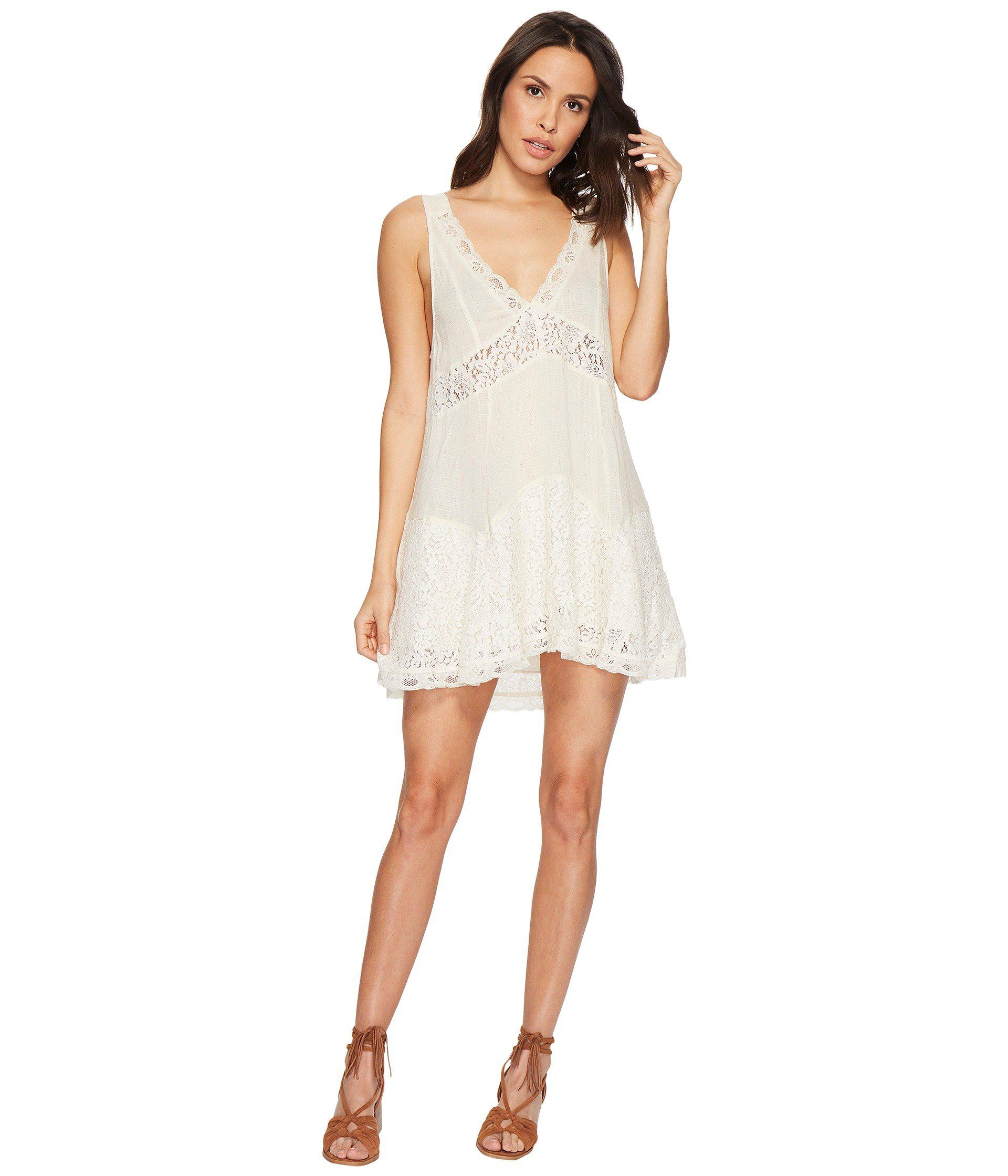 70ee8687c78a Free People Any Party Trapeze Slip in White - Lyst