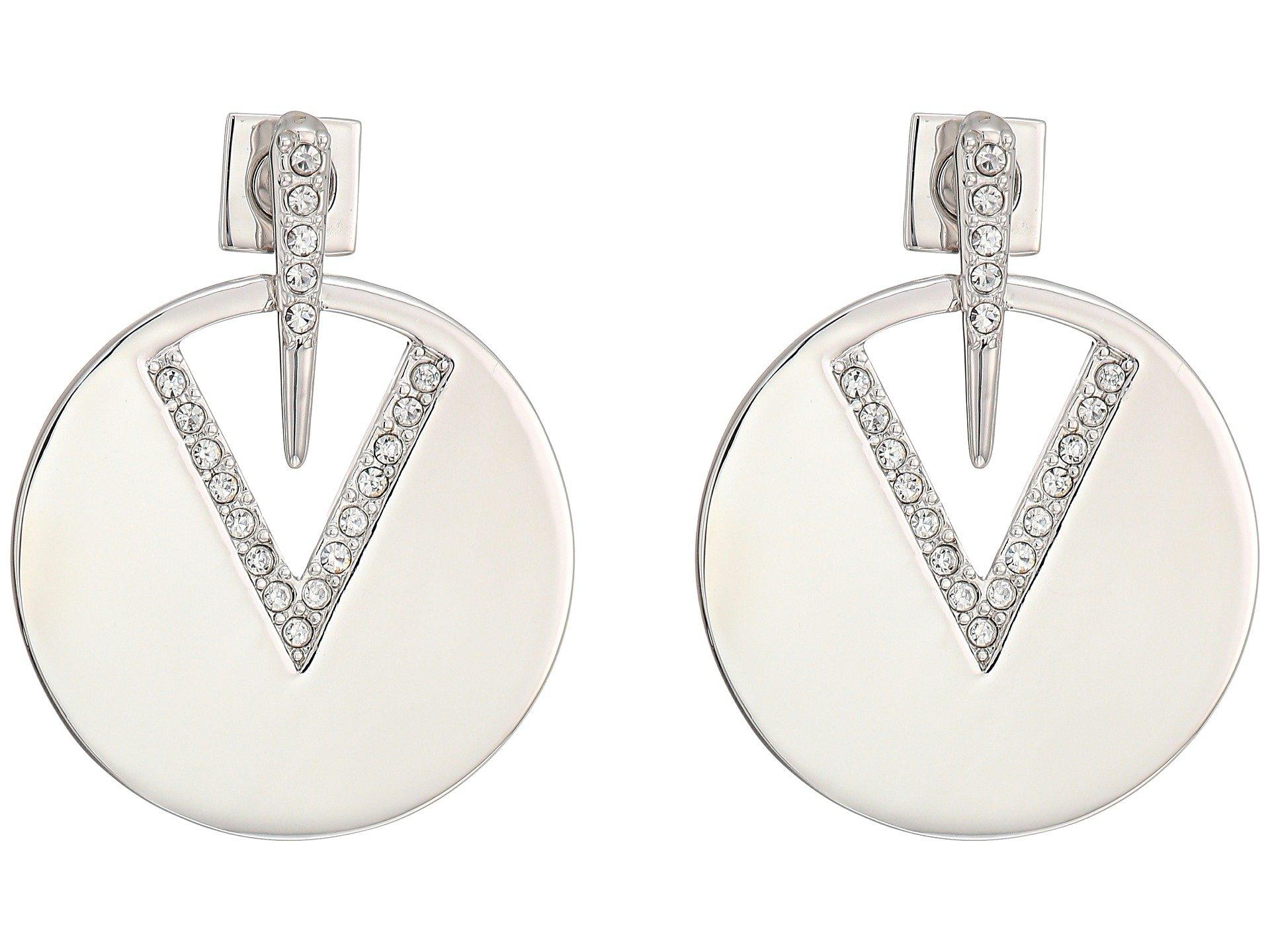 774affa9777 Lyst - Vince Camuto Metal Post Disc Earrings - Save 15%