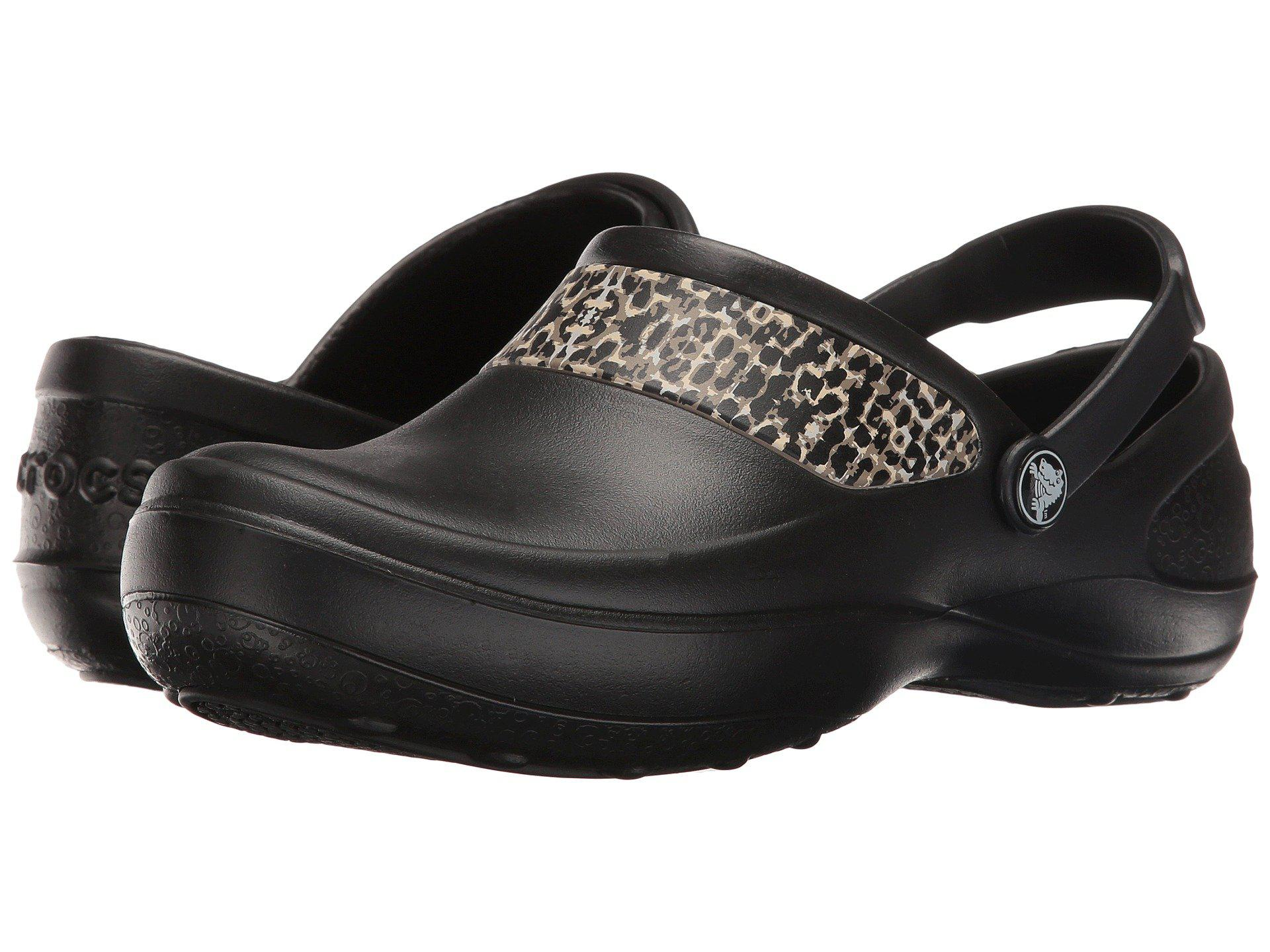 04f3065f0ad156 Lyst - Crocs™ Mercy Work in Black