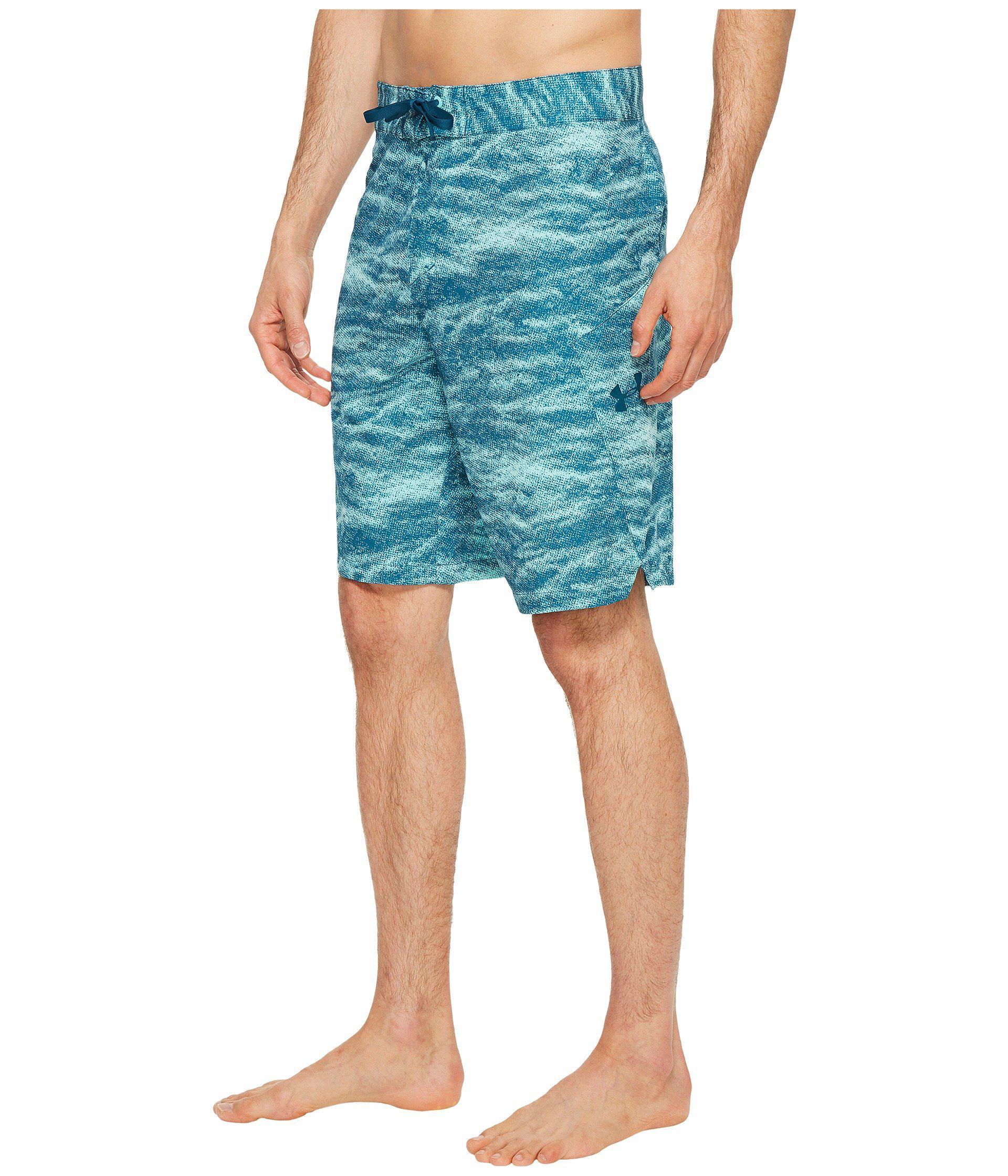 dd2d2faf8469d Lyst - Under Armour Ua Reblek Printed Boardshorts in Blue for Men - Save 27%