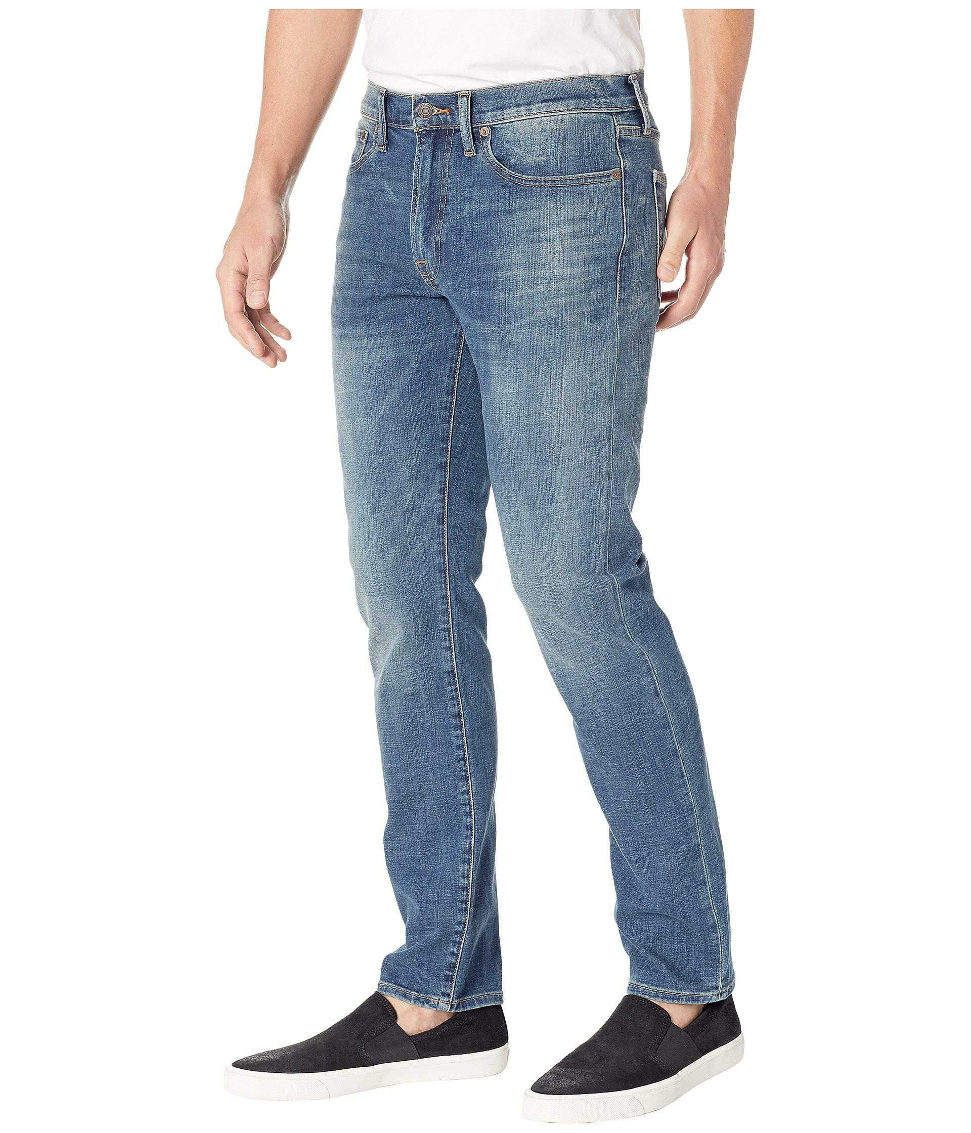 7464377917fb Lyst - Lucky Brand 121 Heritage Slim Jeans In Big Puddle in Blue for Men
