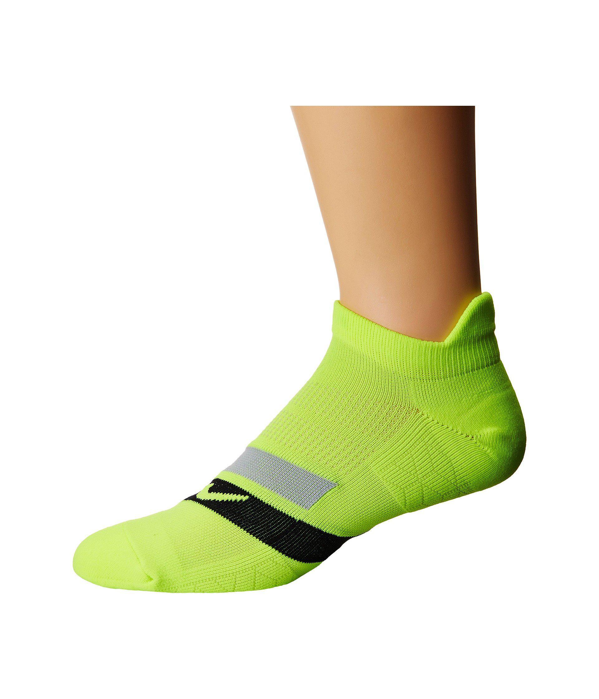 info for 914f7 2093f Nike. Women s Green Dri-fit Cushion Dynamic Arch No-show Running Socks