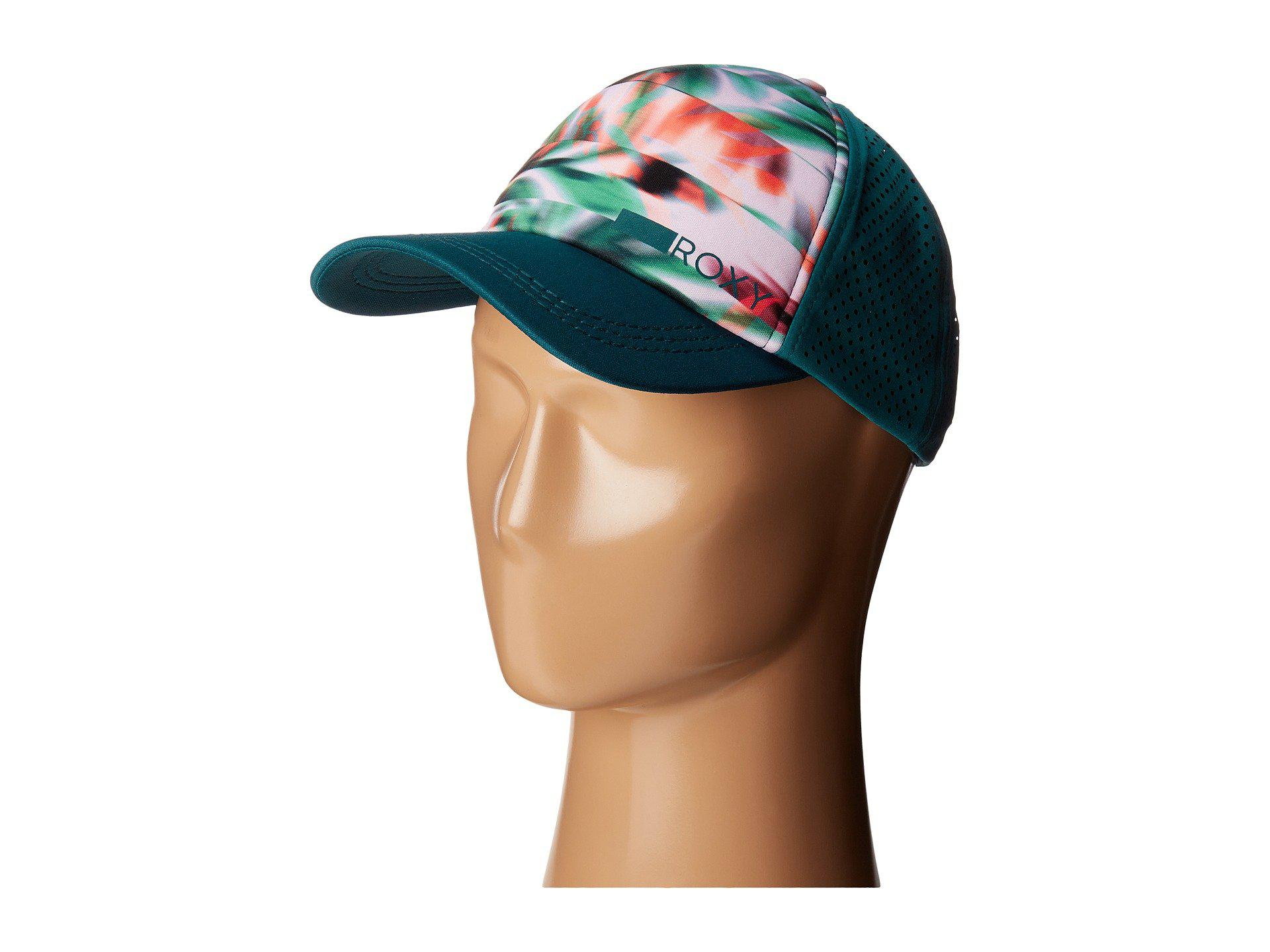 87c405f7c14d3 Lyst - Roxy Waves Machines Trucker Hat in Green for Men