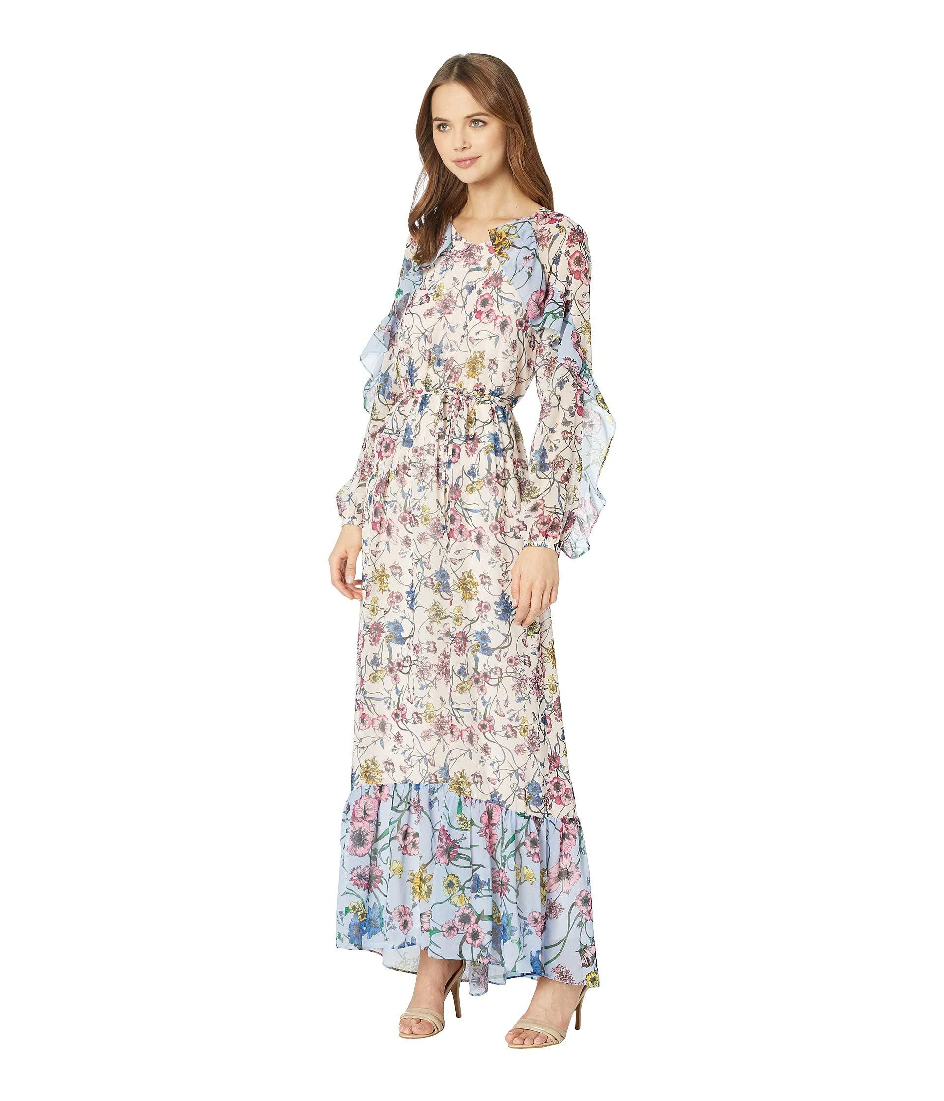 d08653018a11 Juicy Couture Mixed Floral Maxi Dress - Lyst