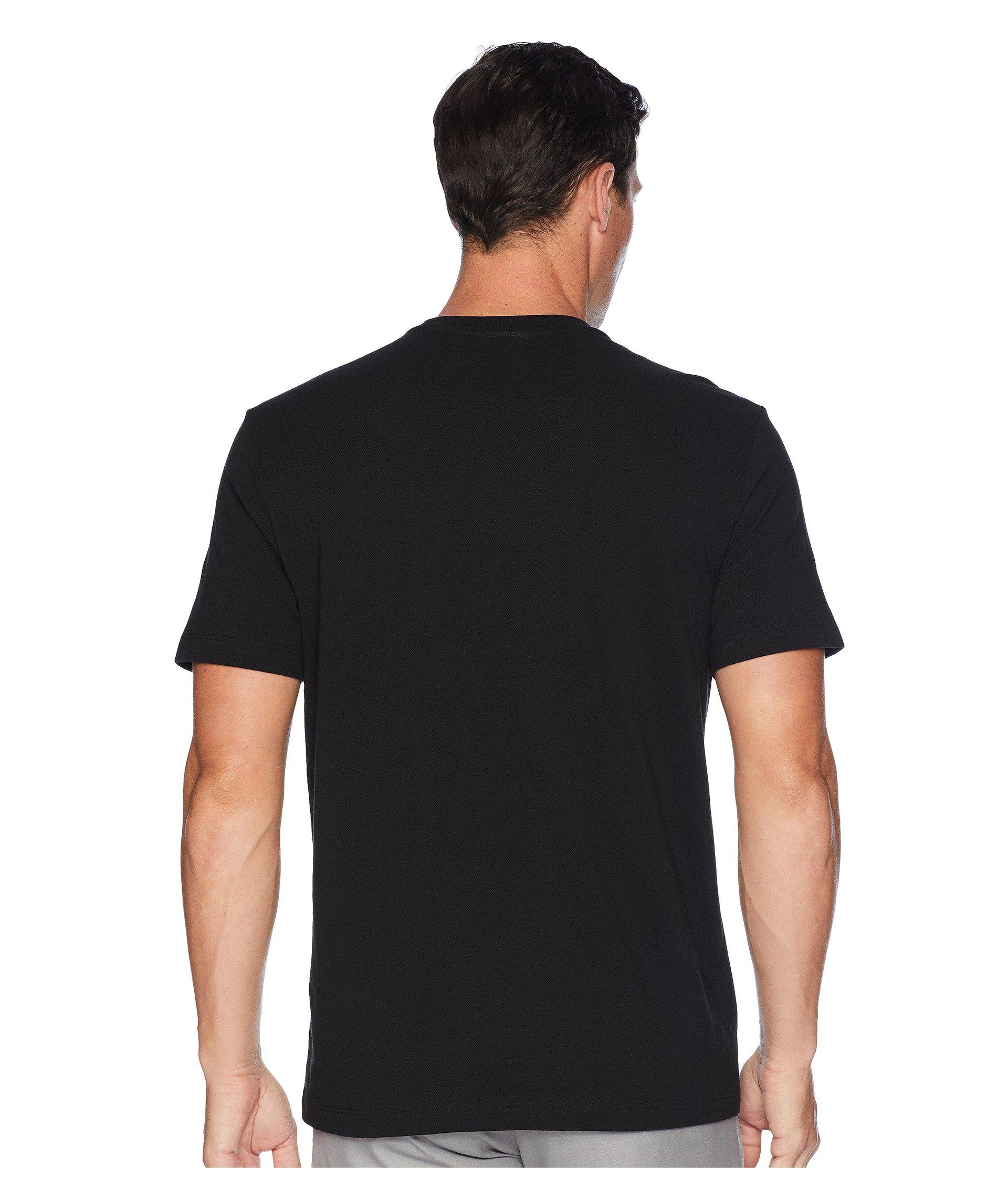ce3de0f4be6445 Lyst - Lacoste Short Sleeve  graphics  Jersey Padded Croc Regular in ...