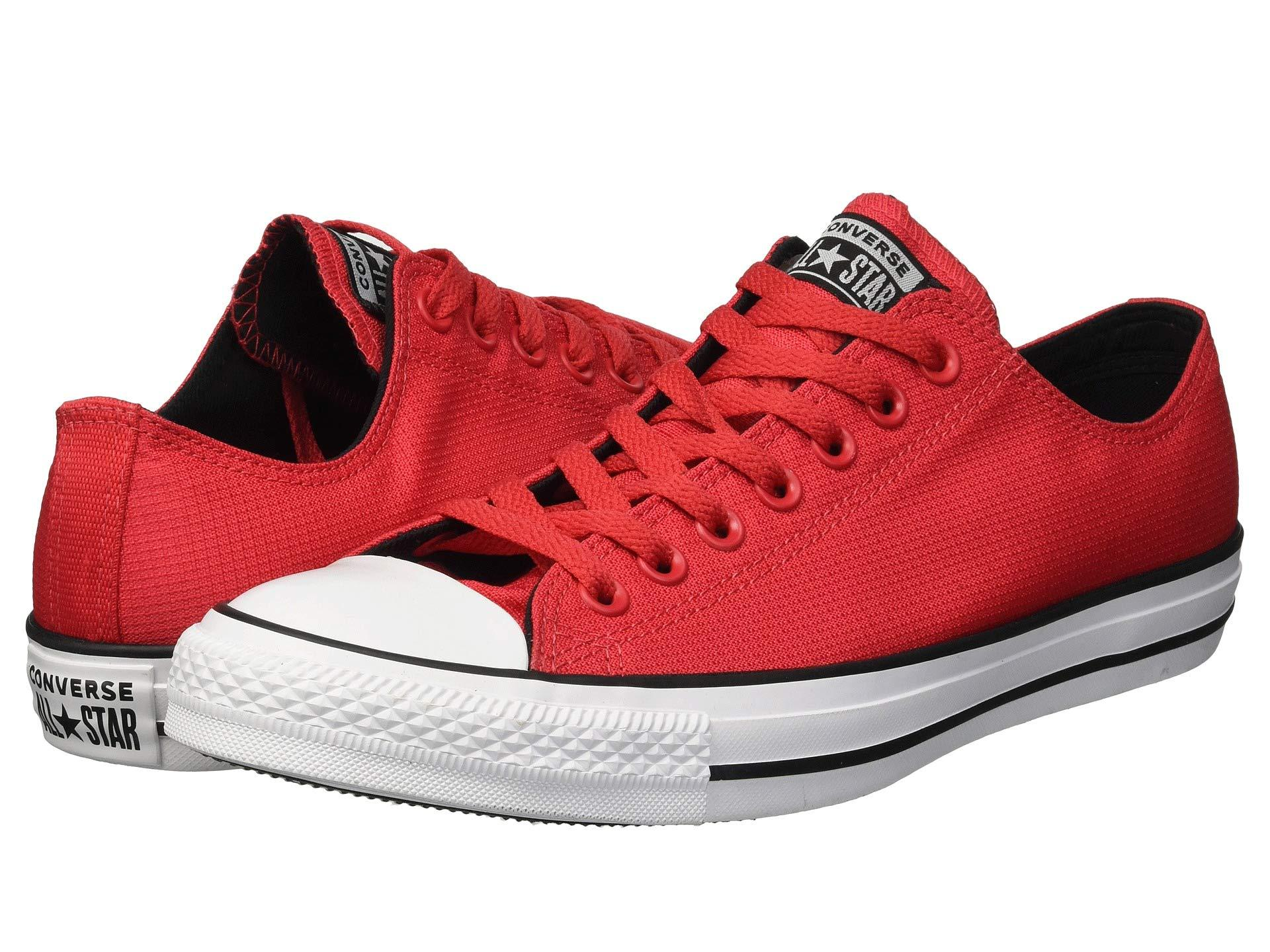4c109c4ce8dc08 Converse - Red Chuck Taylor All Star Lightweight Nylon - Ox for Men - Lyst.  View fullscreen