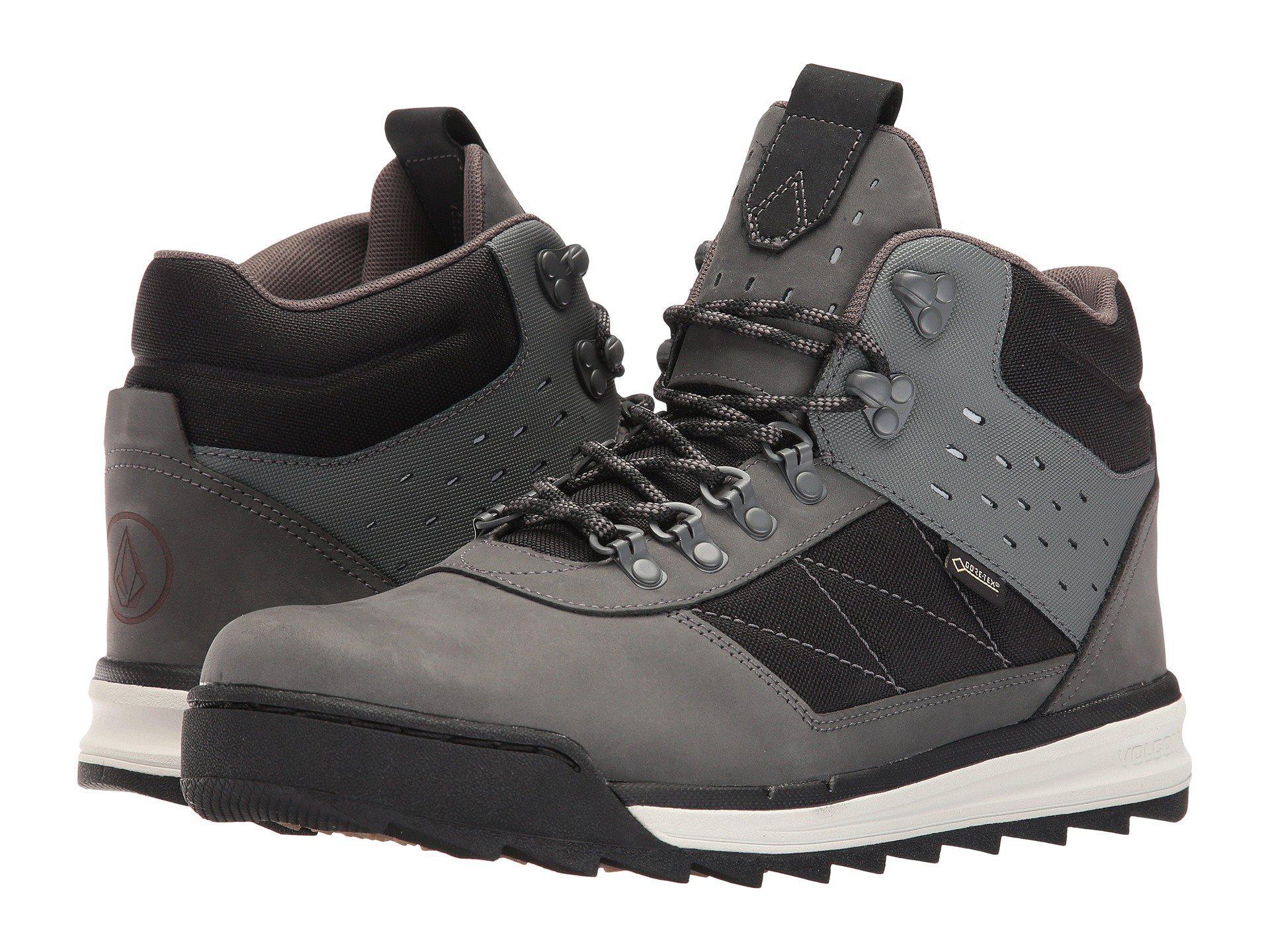 Shelterlen GTX Shoes black white Volcom 9Wb9qj3KE