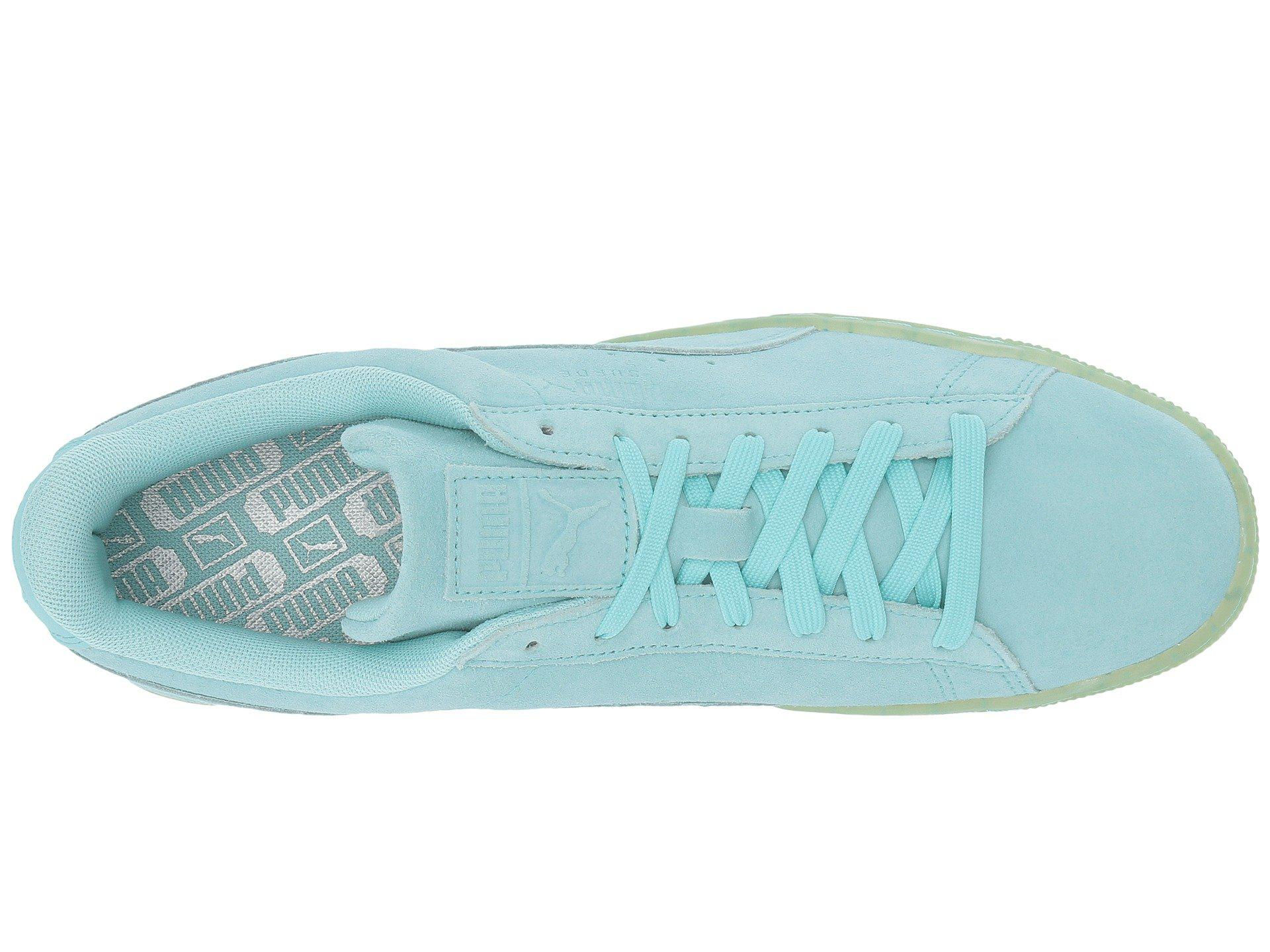 online store d9388 3bf05 PUMA Suede Classic Easter Fm in Blue for Men - Lyst