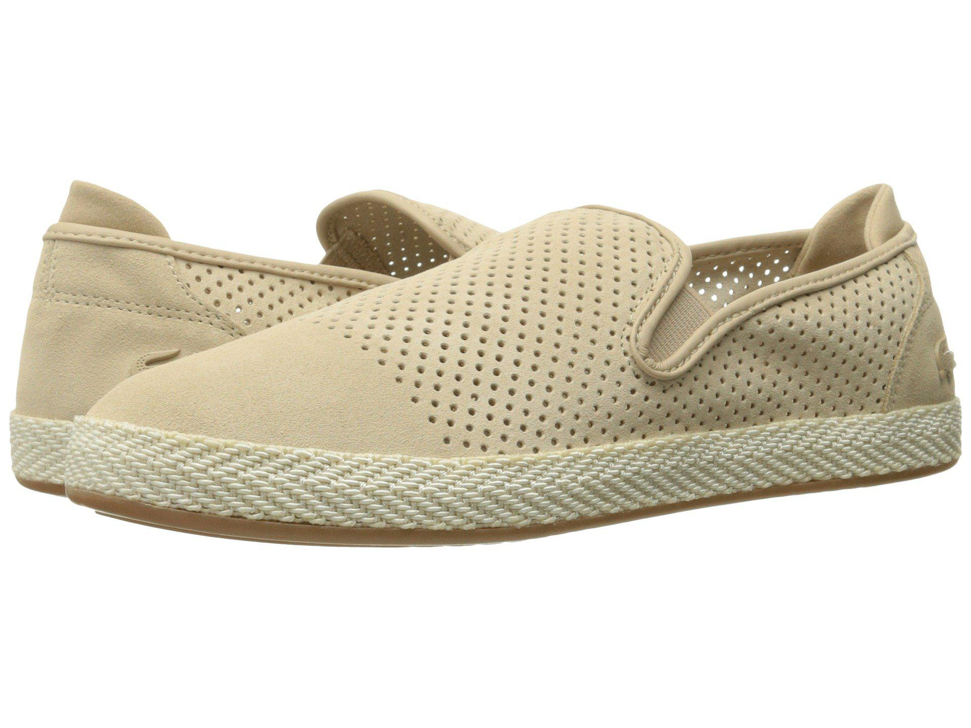 409405d3c4ff11 Lyst - Lacoste Tombre Slip-on 217 1 in Natural for Men