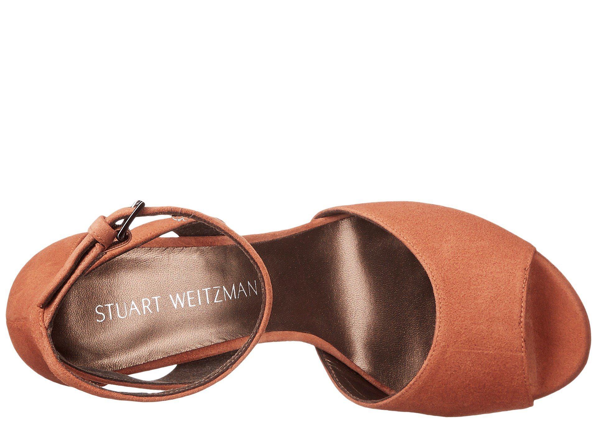 aa95ed100ae Lyst - Stuart Weitzman Hijinx in Brown