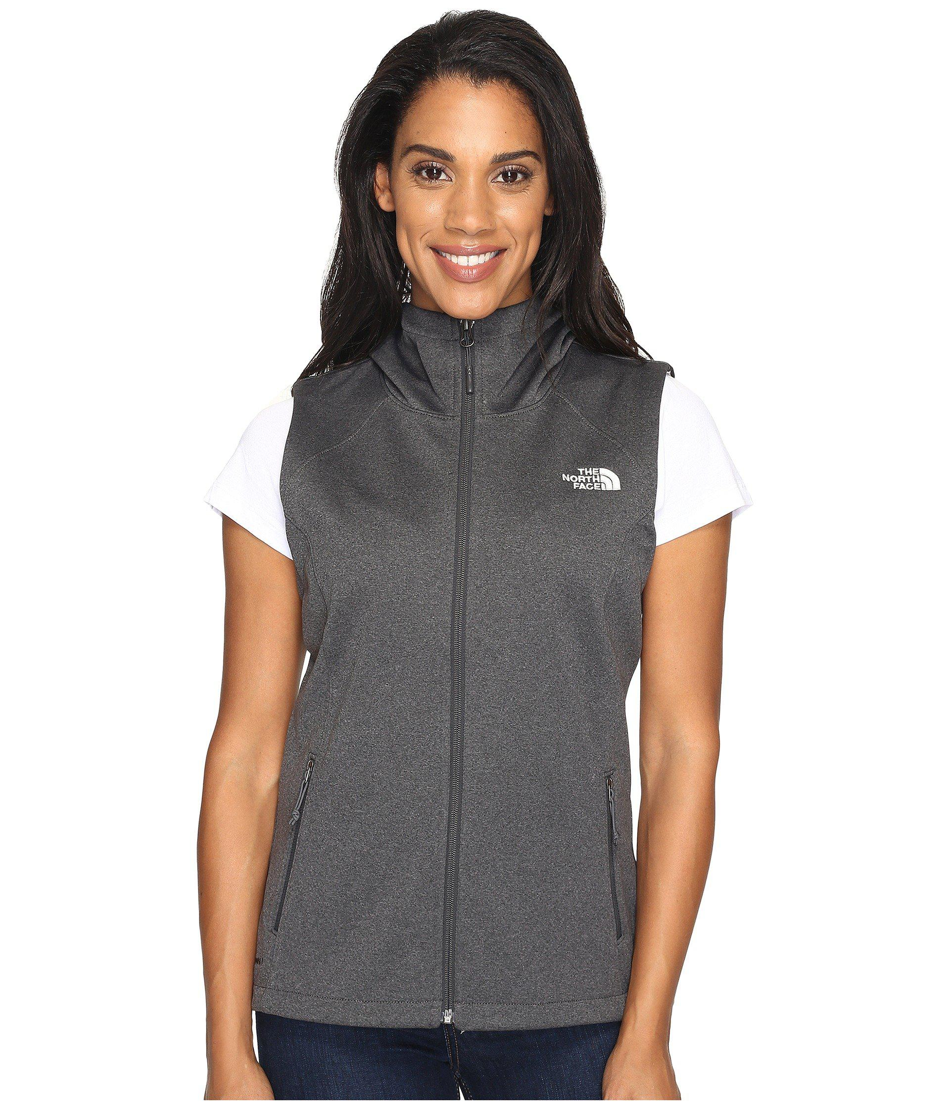 7c009f543521 Lyst - The North Face Canyonwall Hoodie Vest in Gray