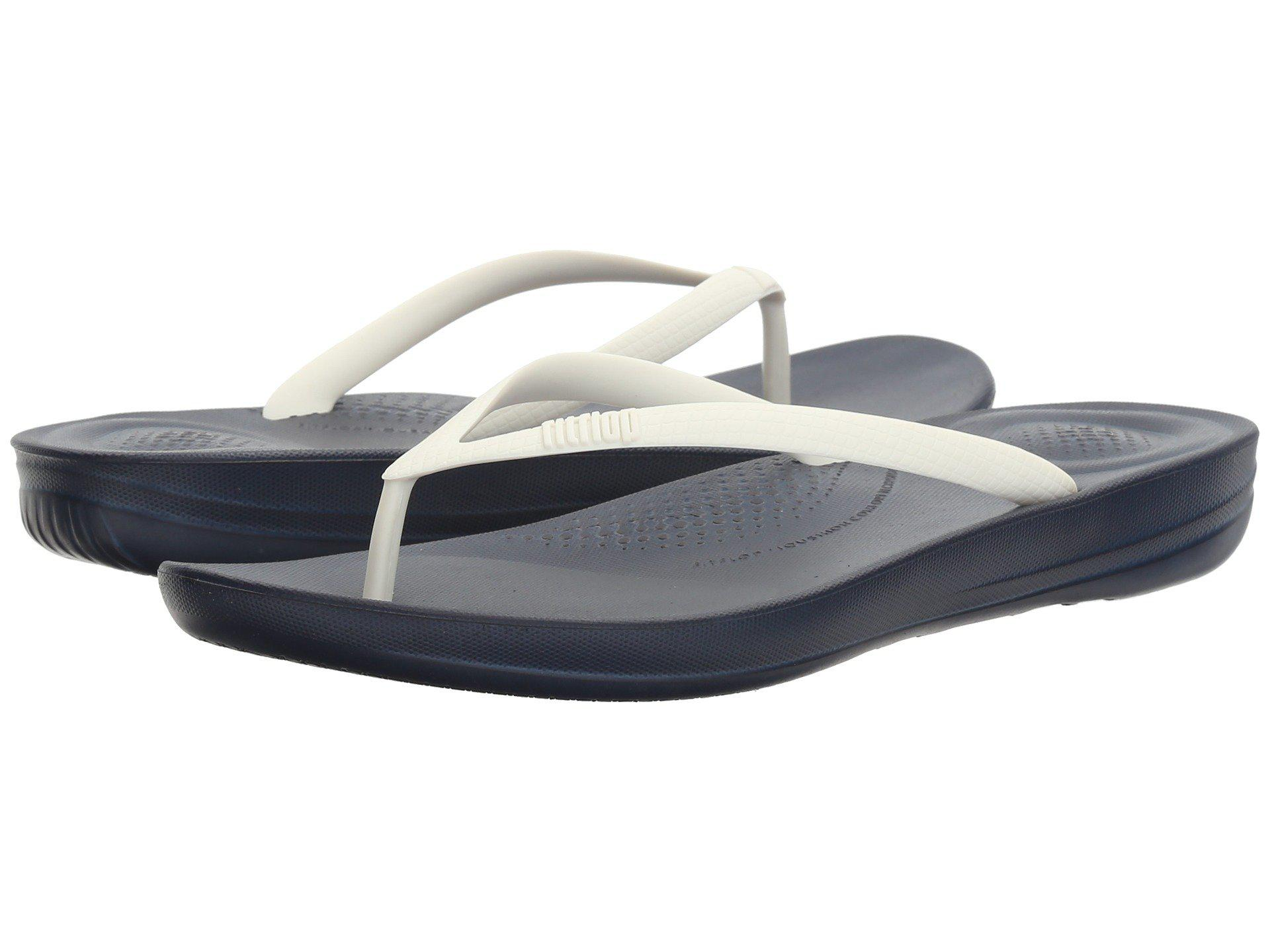 029c8848a3a8 Lyst - Fitflop Iqushion Ergonomic Flip-flop in Blue