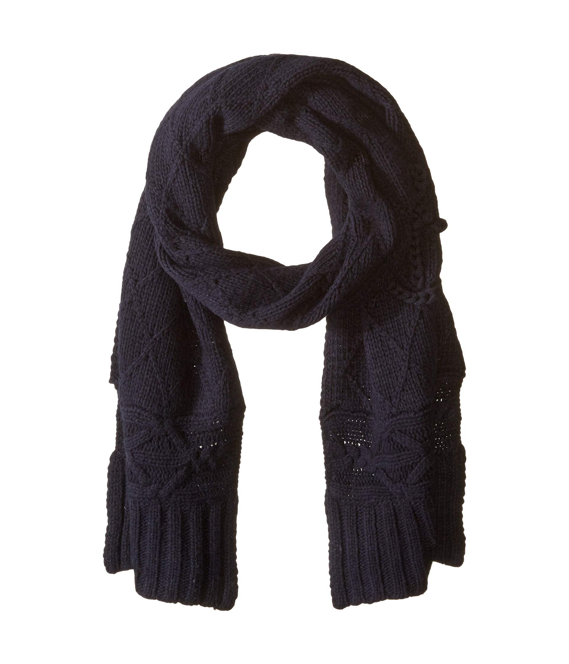 Lyst - Polo Ralph Lauren Chainstitch Anchor Scarf in Blue - Save ... e63edfd5f73