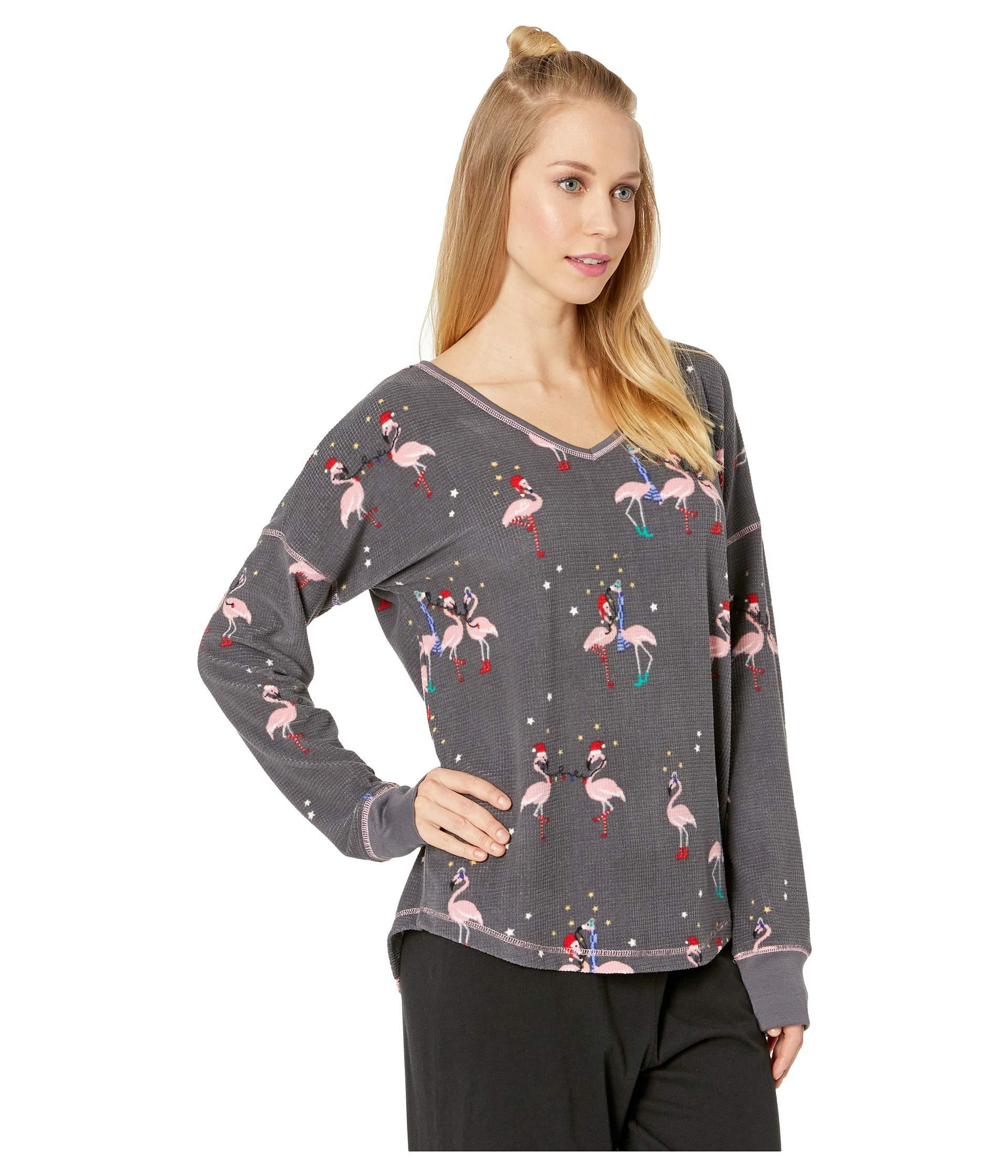 d3b1af7994 Lyst - Pj Salvage Let's Flamingo Thermal in Gray
