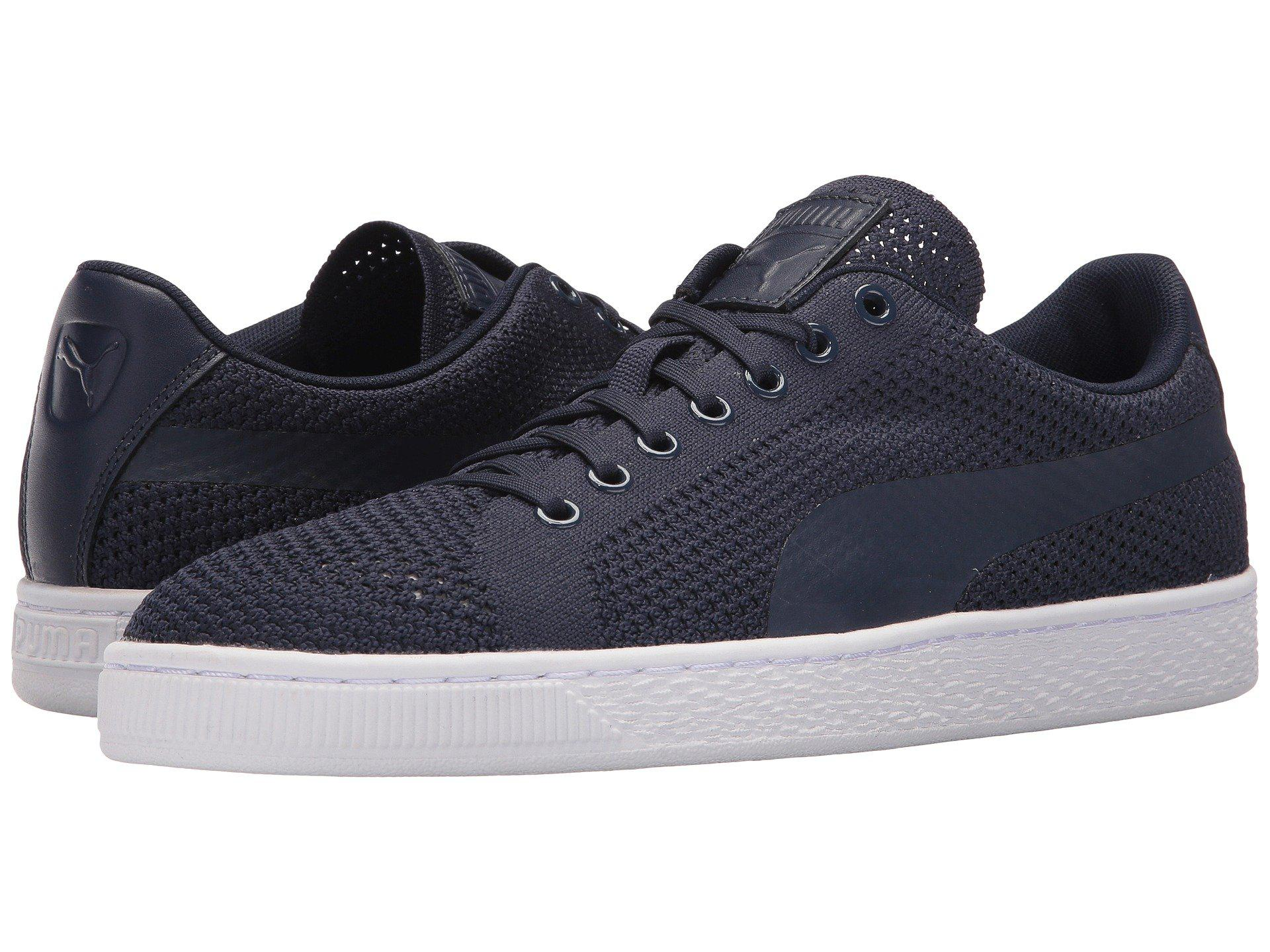 9036e5fedb0 Lyst - PUMA Basket Classic Evoknit in Blue for Men