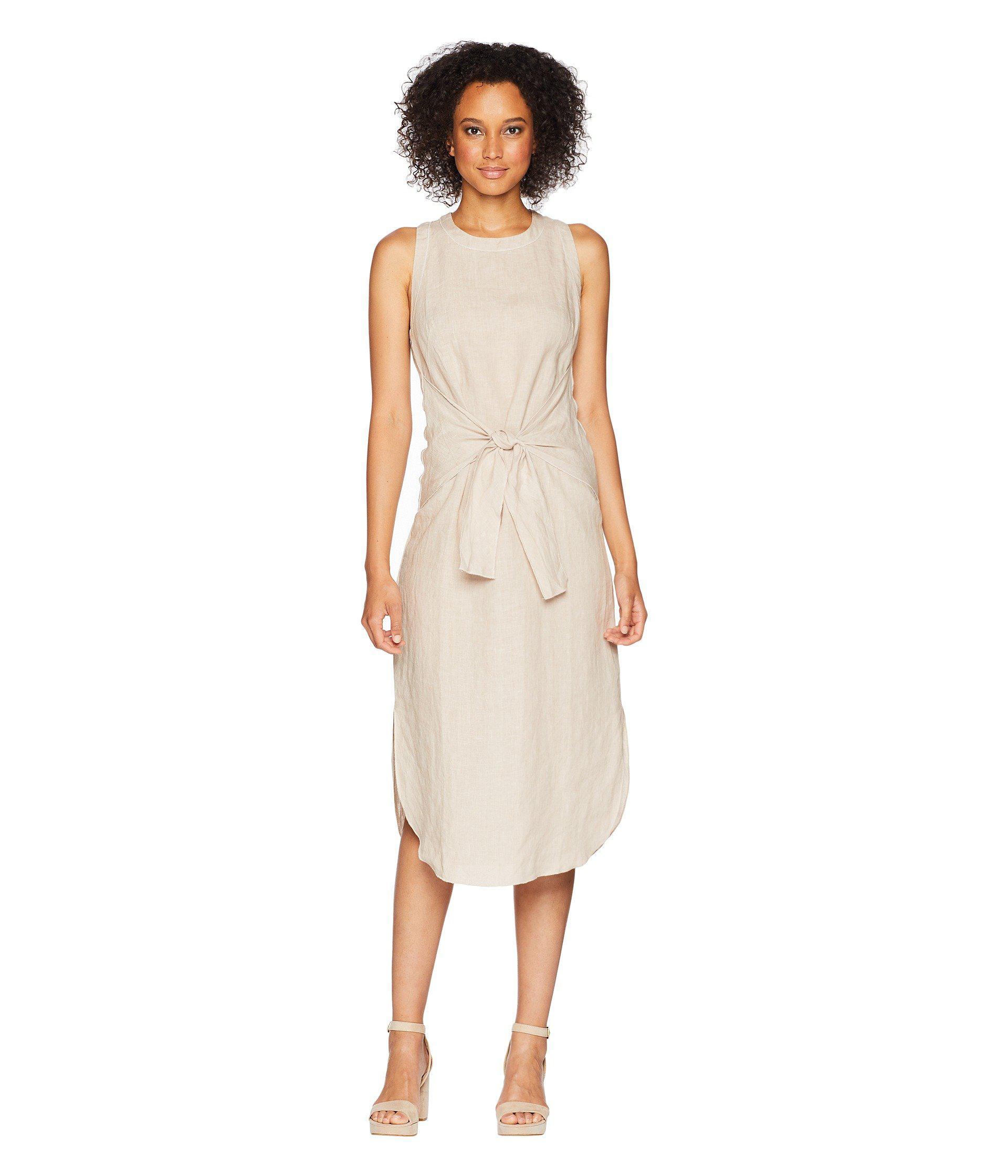 6a08d6c2e4 Lyst - Three Dots Woven Linen Dress - Save 44%
