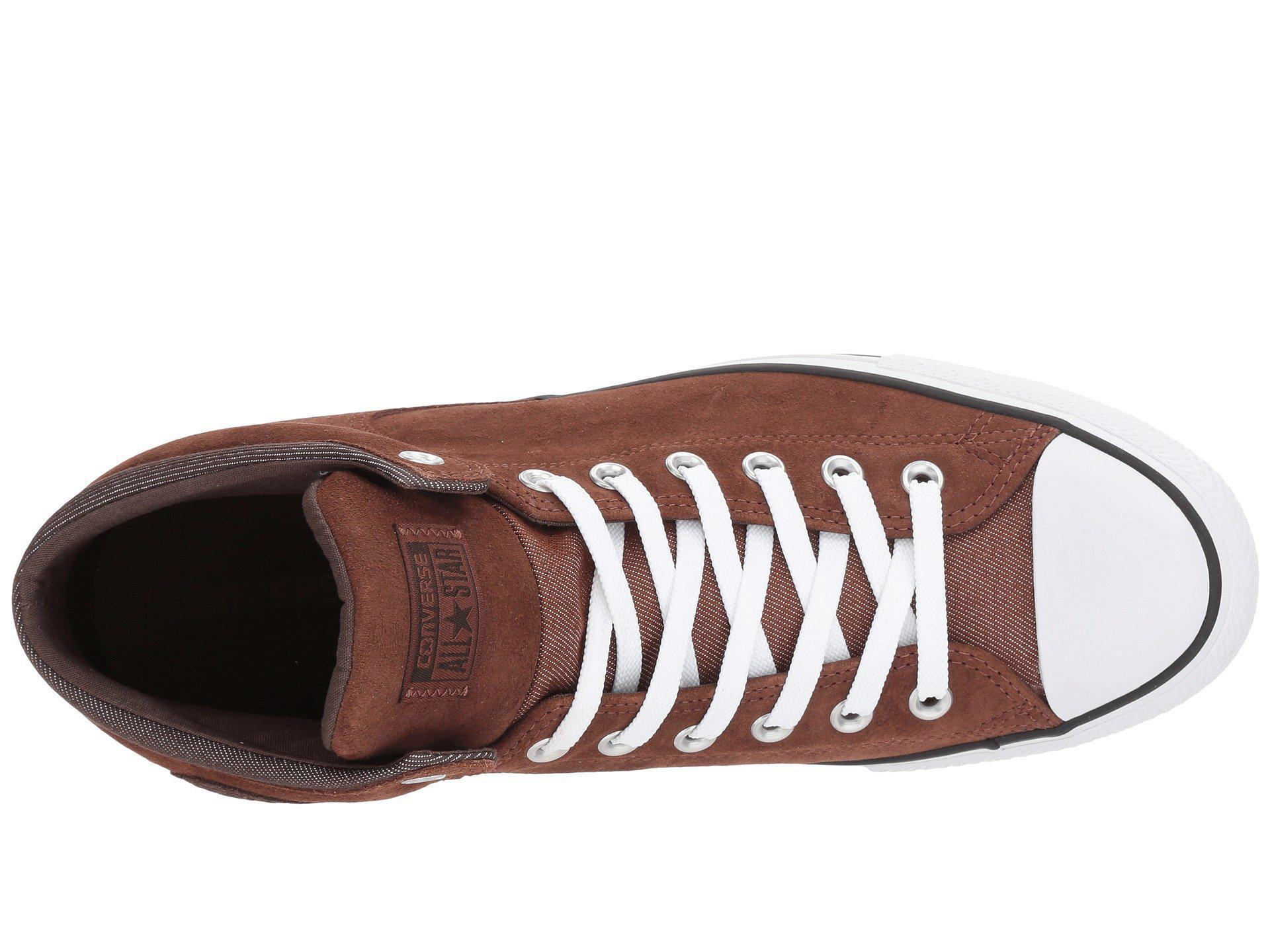 Converse - Brown Chuck Taylor® All Star® High Street Thermal Suede Hi for  Men. View fullscreen ad8ce2ae3