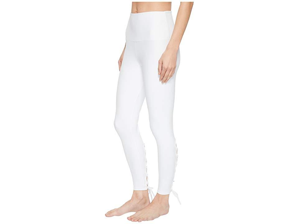 723367e1d7c2a5 Onzie - Bridal Laced-up Leggings (white) Workout - Lyst. View fullscreen