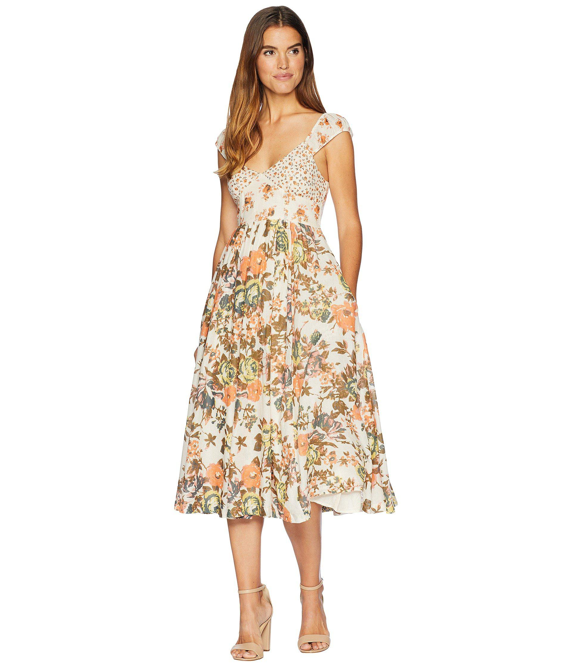 00344a27f Lyst - Free People Love You Midi in White - Save 62%