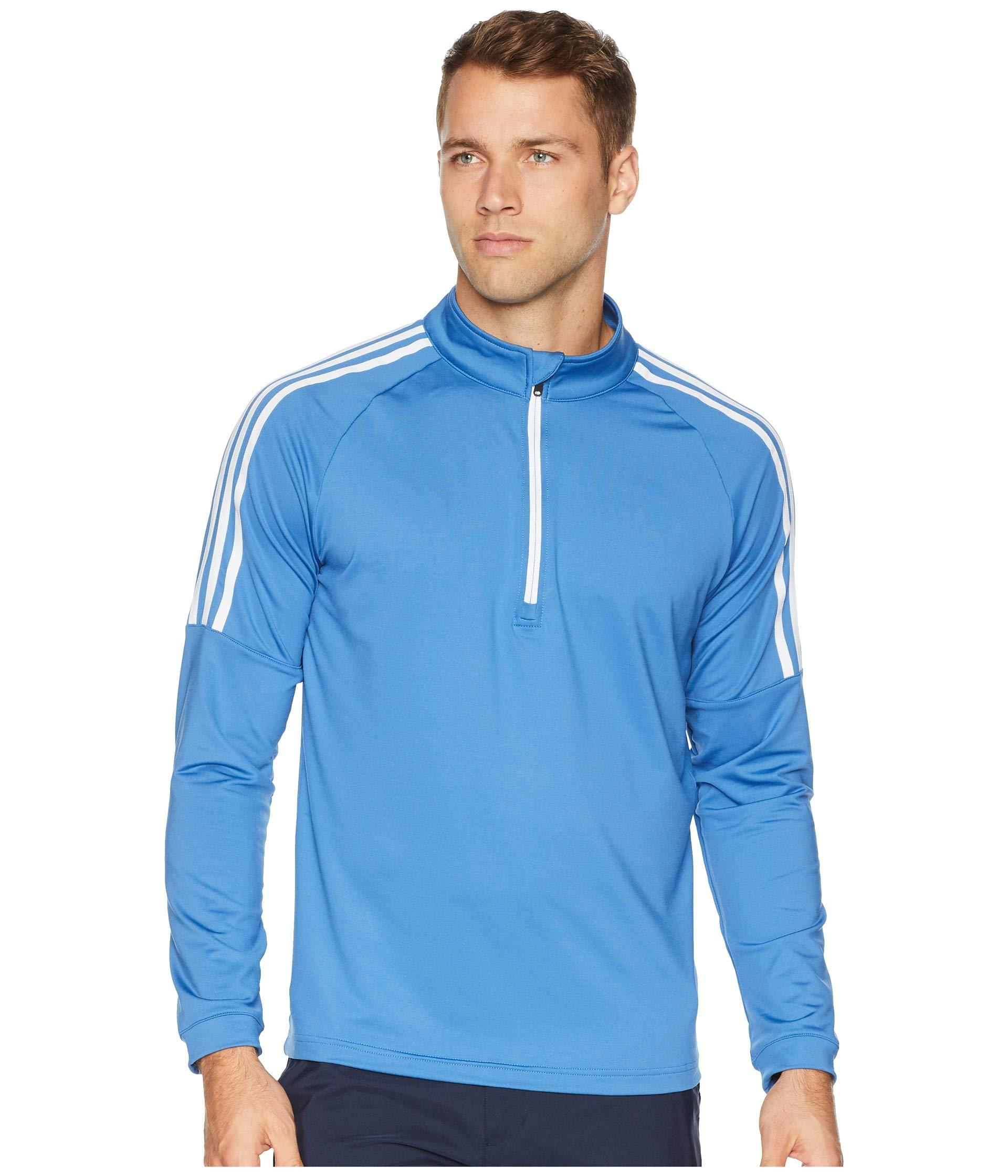 Lyst adidas Originals Classic 3 stripes 14 Zip Pullover