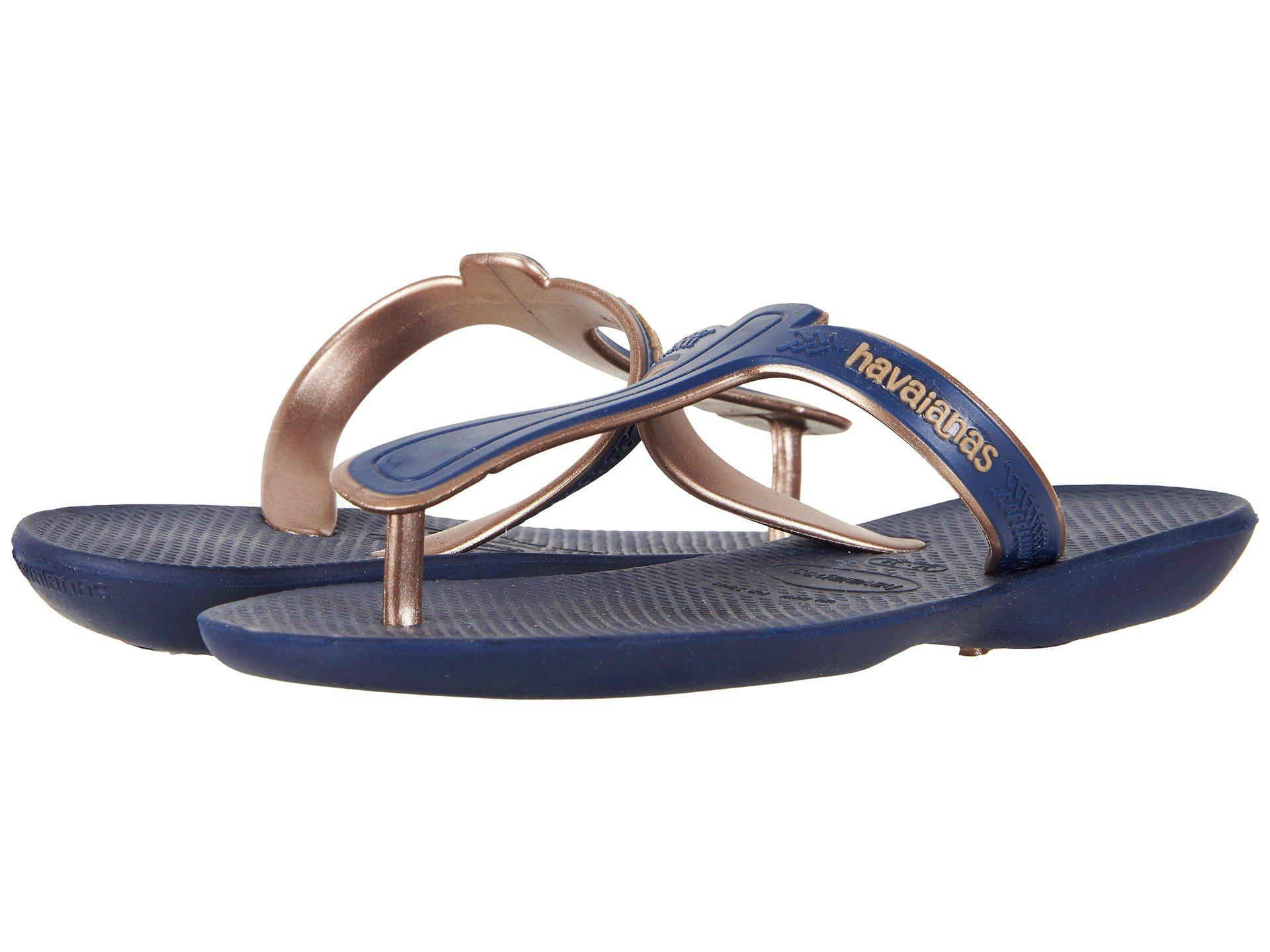 58a7f6e87e36 Lyst - Havaianas Casual Flip-flops in Blue - Save 33.33333333333333%