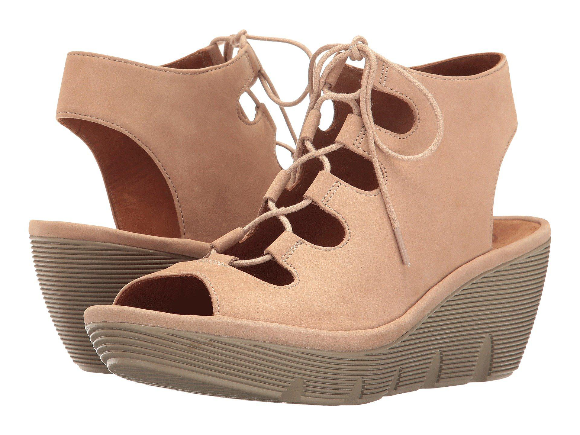 5f8839561f0 Lyst - Clarks Clarene Grace in Natural - Save 22%