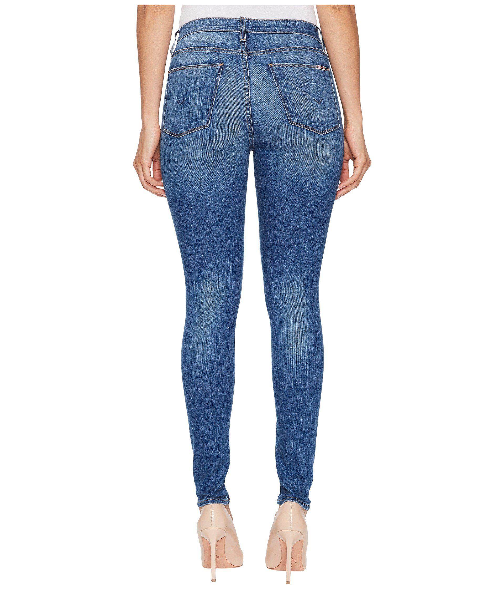649d2157569 Hudson Jeans Barbara High-waist Super Skinny Jeans In Ultralight ...