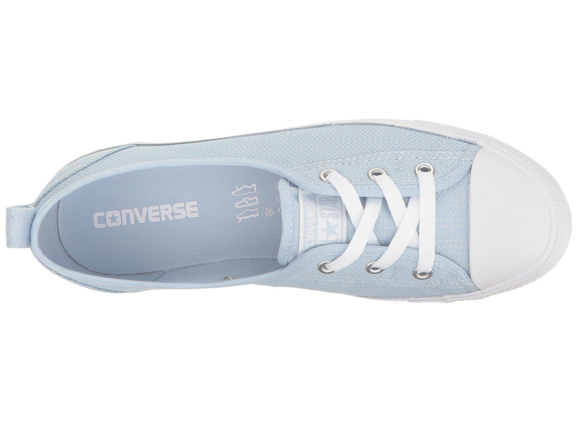e2a006d8e8d702 Lyst - Converse Chuck Taylor® All Star® Ballet Lace Micro Dot Slip ...