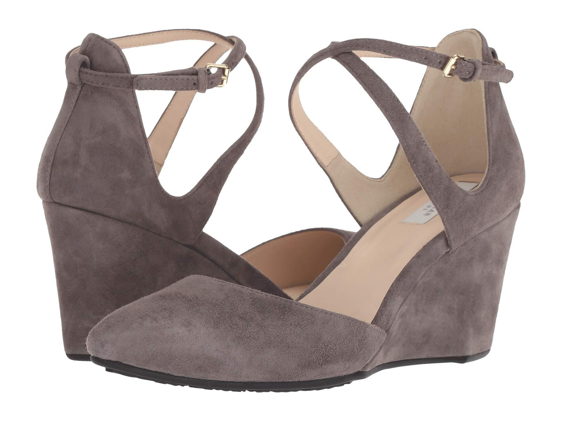 bce448acd5a5 Lyst - Cole Haan Lacey Wedge Ankle Strap 75mm - Save 45%