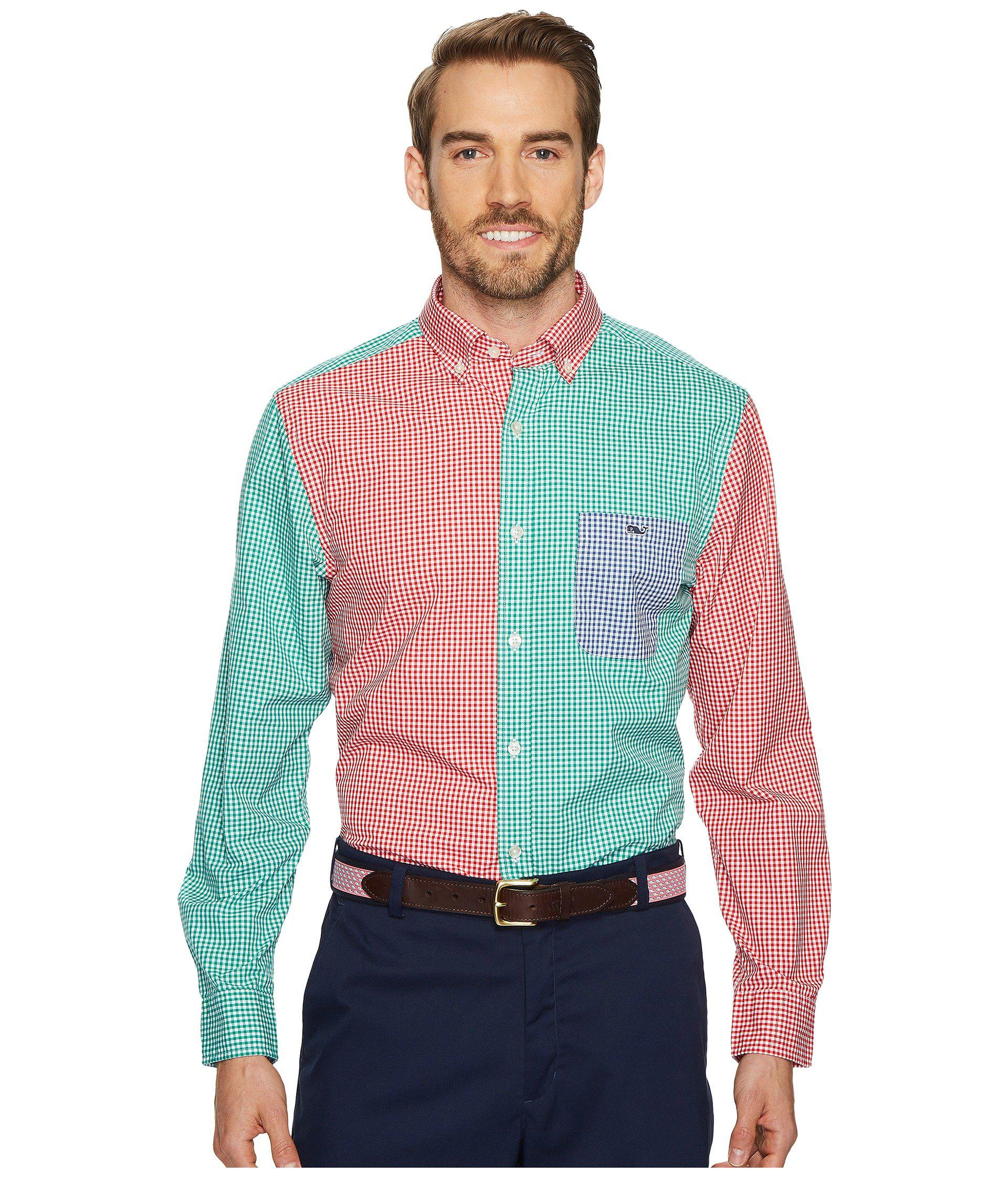 Lyst - Vineyard Vines Holiday Party Classic Tucker Shirt for Men
