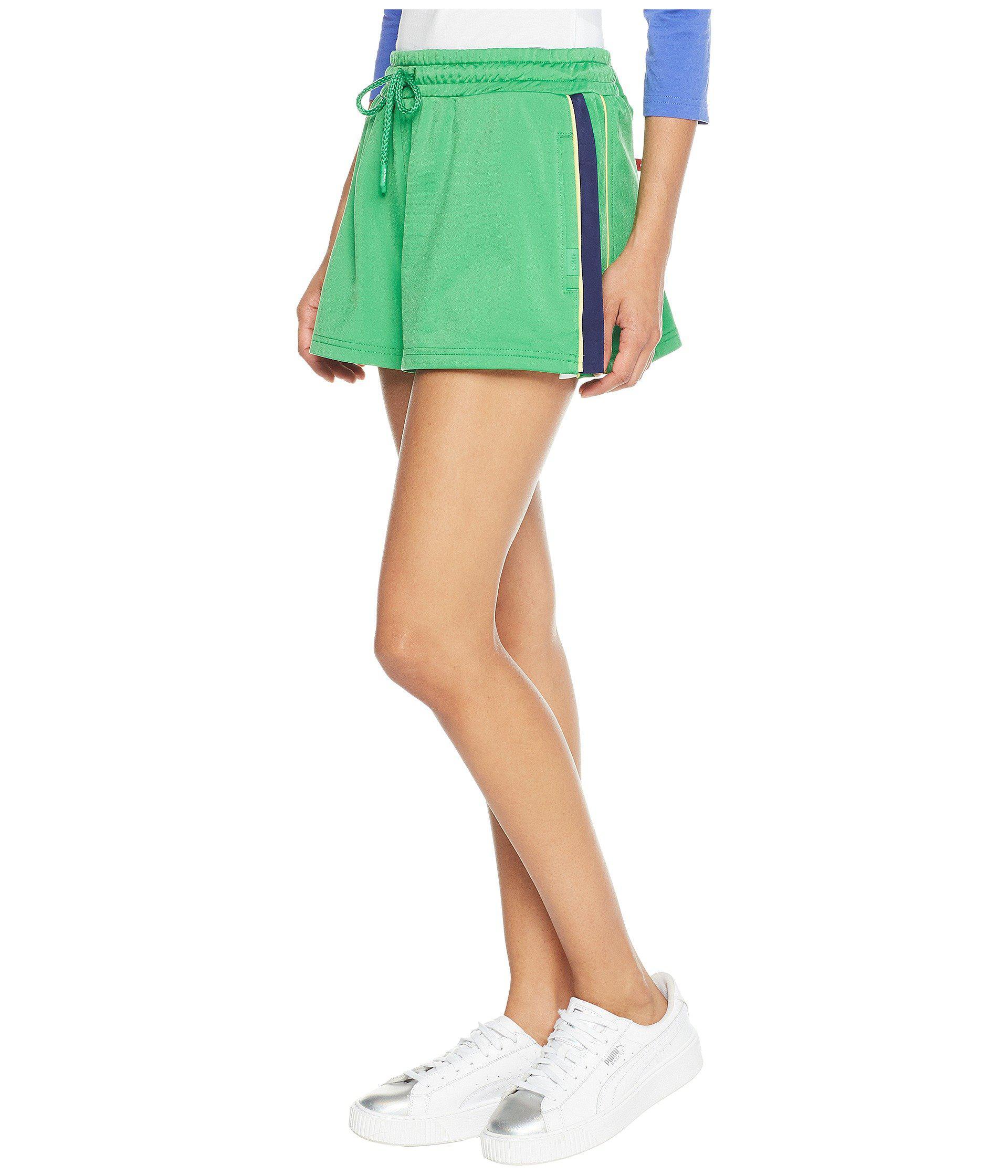 4ee7c51c7102 Lyst - PUMA X Fenty By Rihanna Side Split Shorts in Green - Save 64%