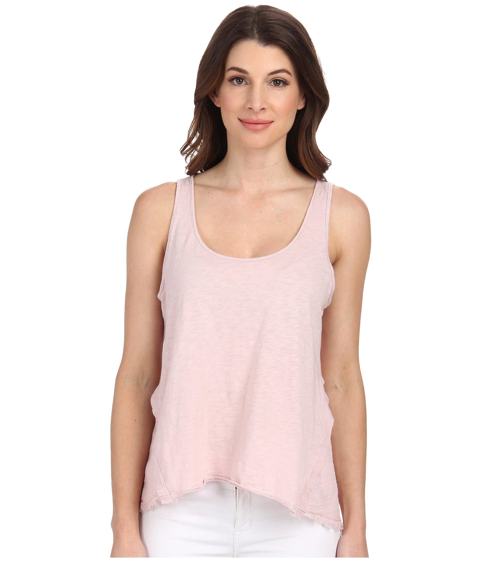 Velvet by Graham & Spencer Womens Nice Tank Top Confetti - Shirts & Tops