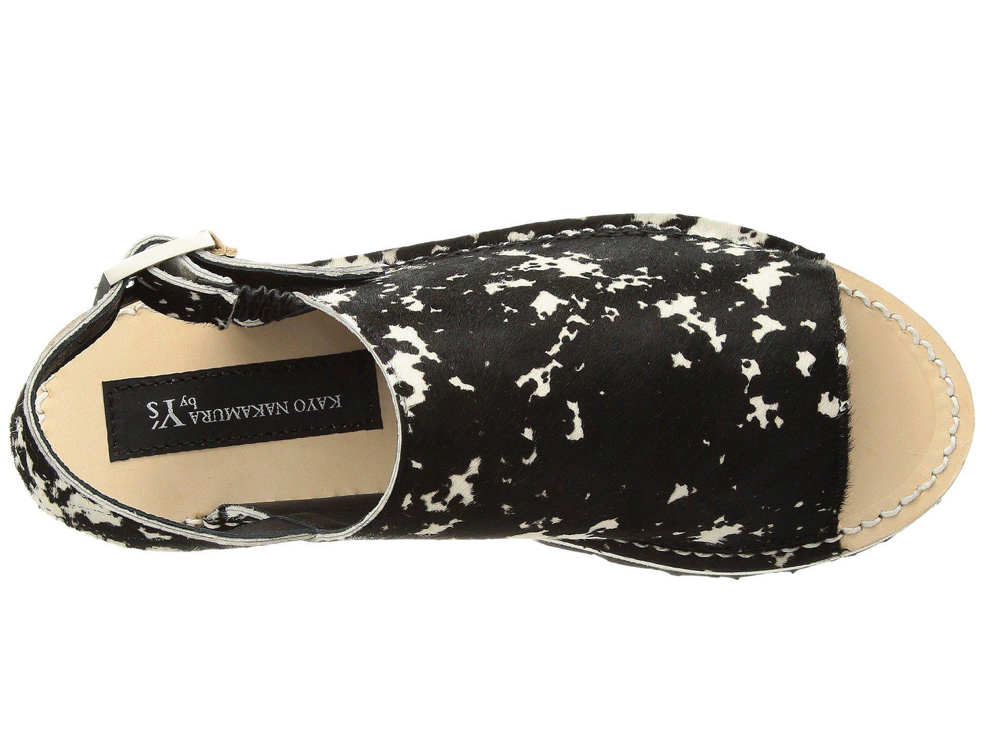 9da8c2889 Lyst - Y s Yohji Yamamoto Shark Sandal Multi in Black - Save 55%